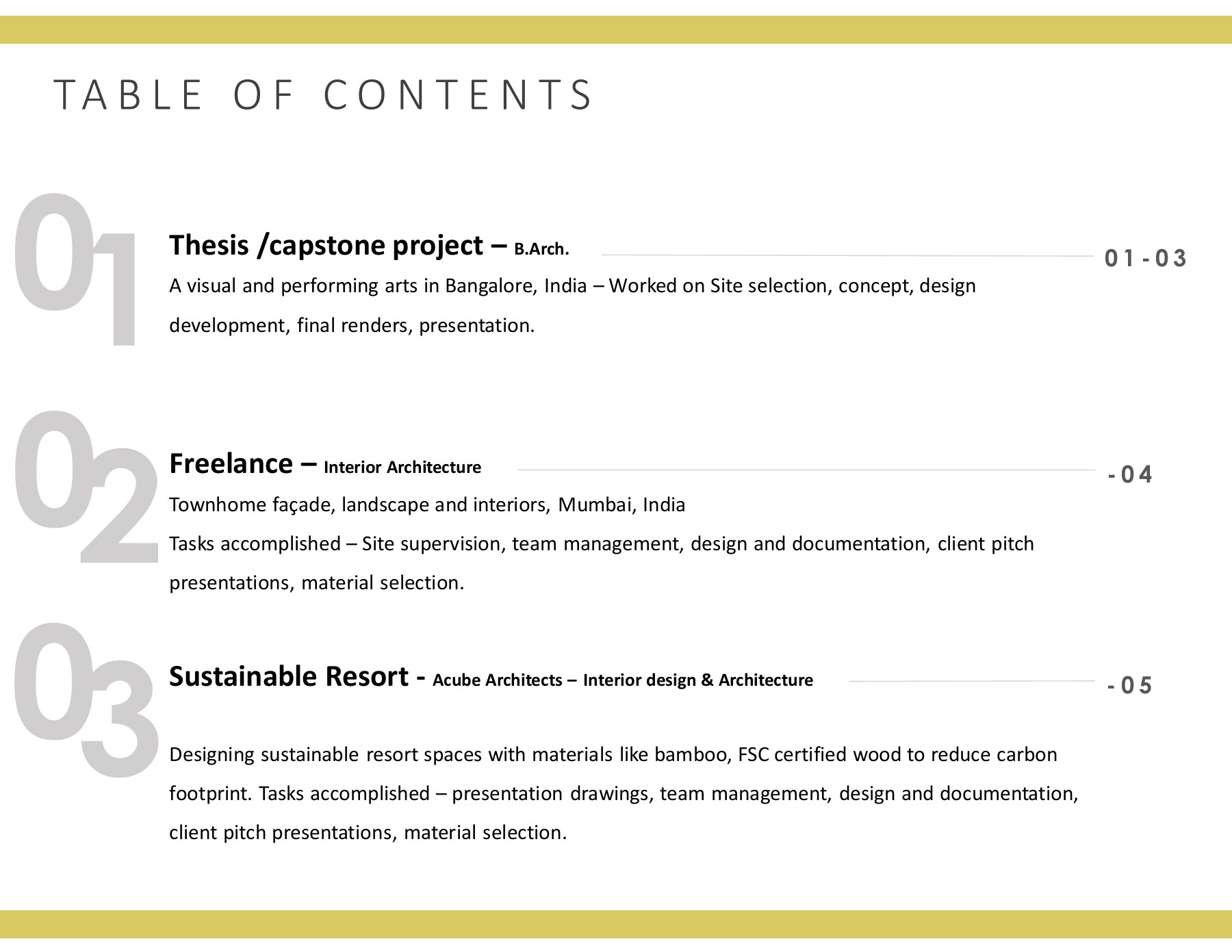 Interior Design Architecture Portfolio Flip Book Pages 1 19 Pubhtml5