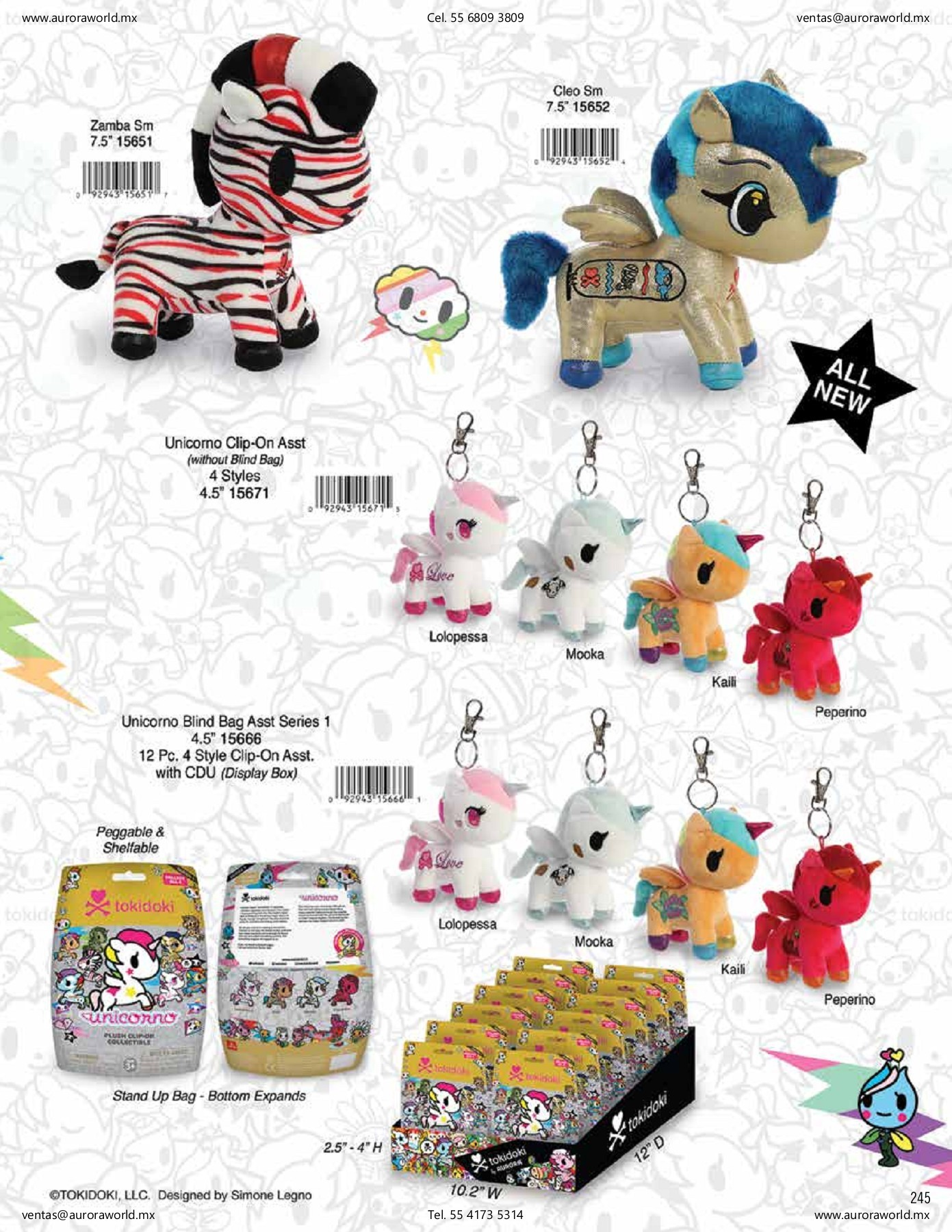 Aurora World Precious Moments Toy Togo Tiger Plush Inc 15770