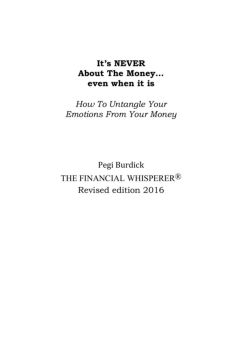 Depression: Anger Turned Inward-The Financial Whisperer ...