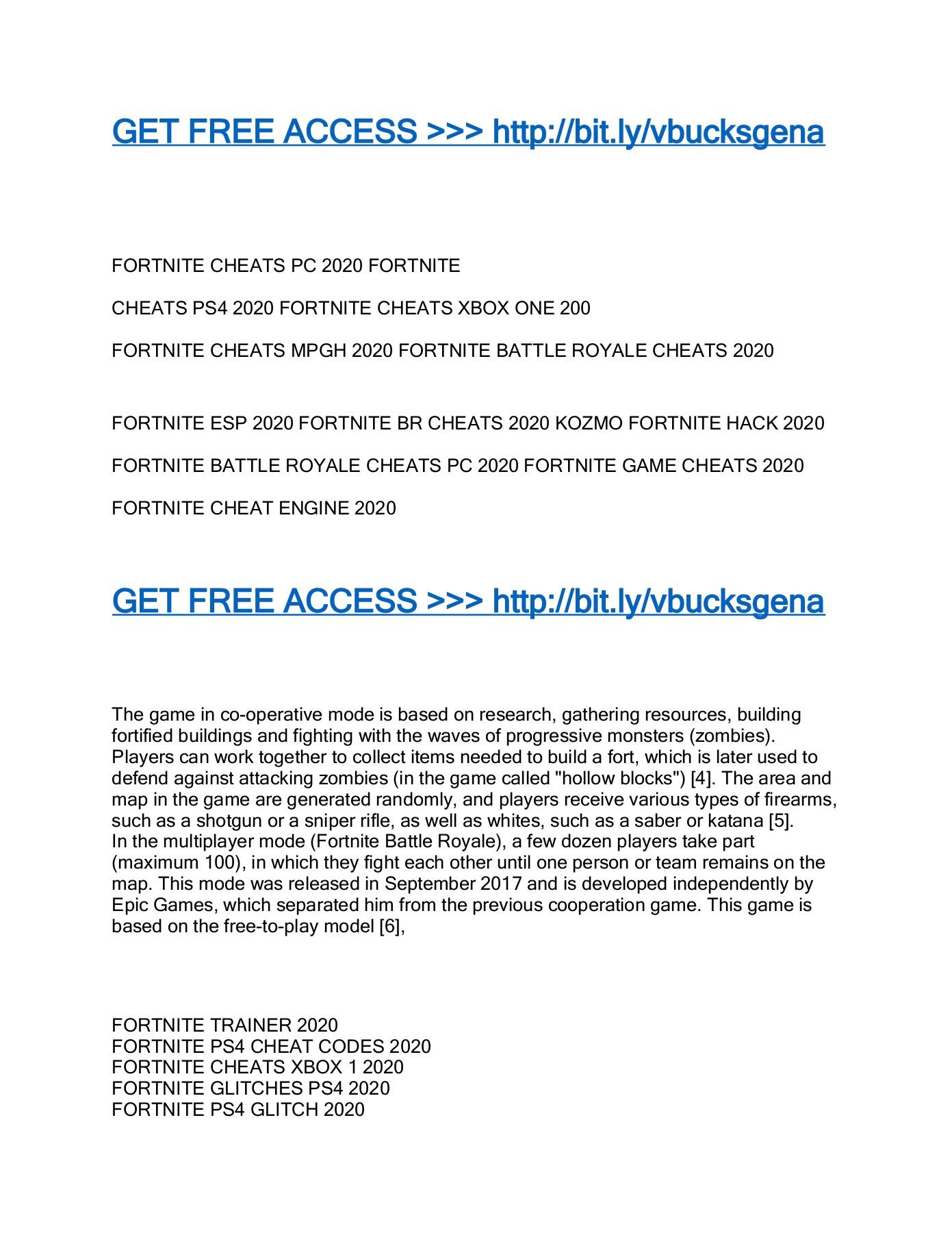 Get Free Fortnite V Bucks Generator Free Fortnite Aimbot Guide