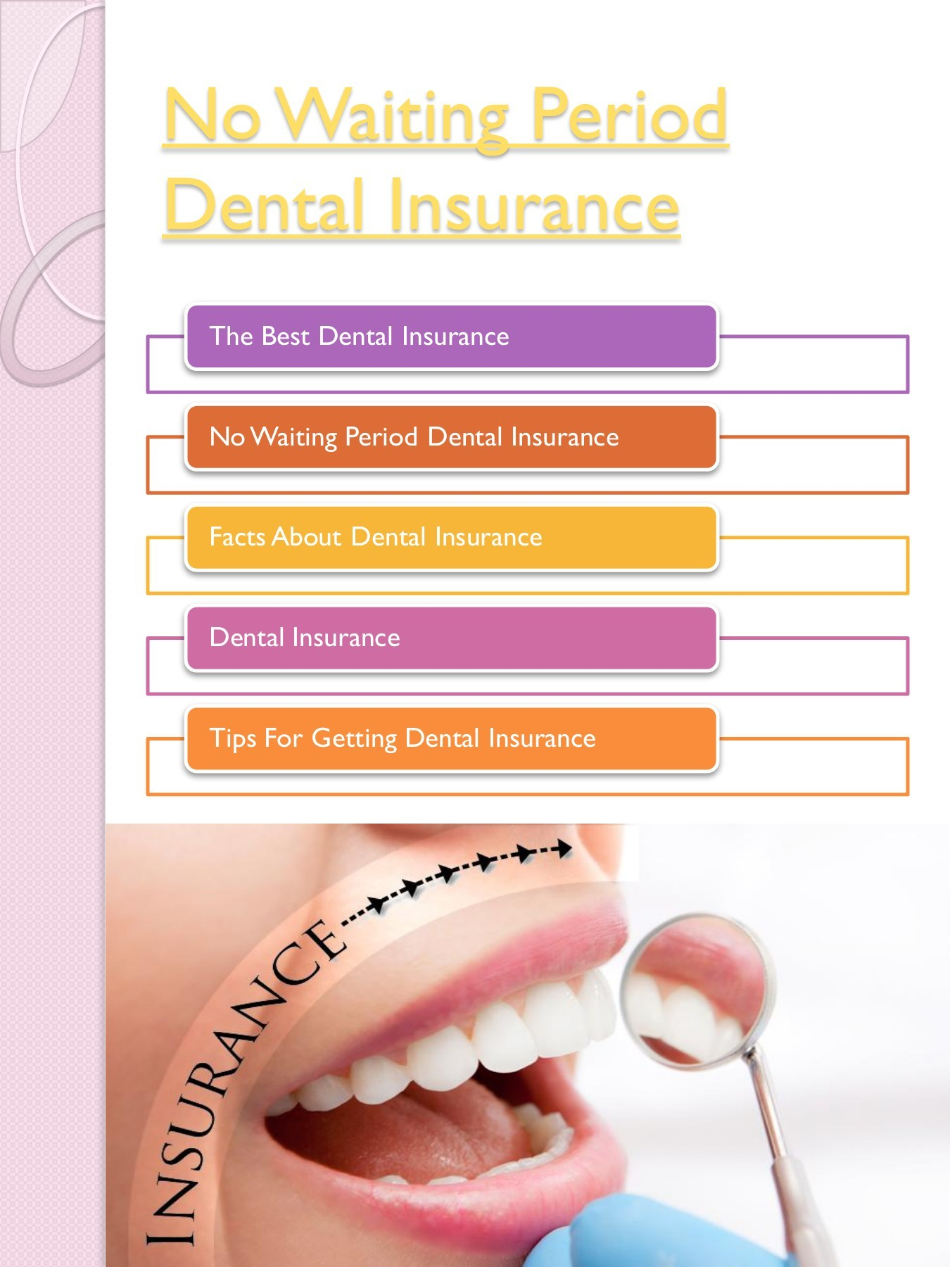 No Waiting Period Dental Insurance Flip Book Pages 1 10 Pubhtml5