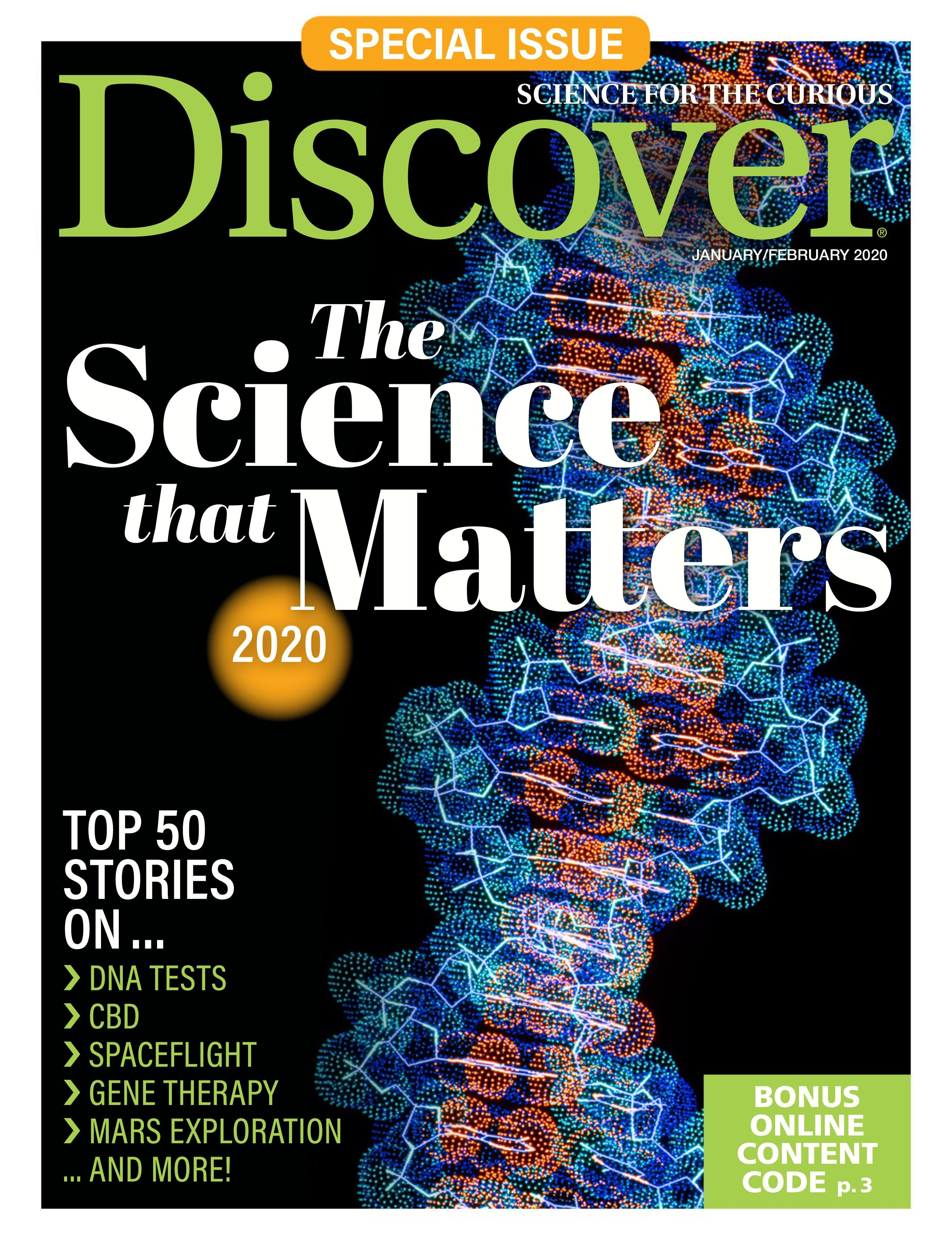 Alysson Sterling discover: the science that matters (january 2020)-flip book