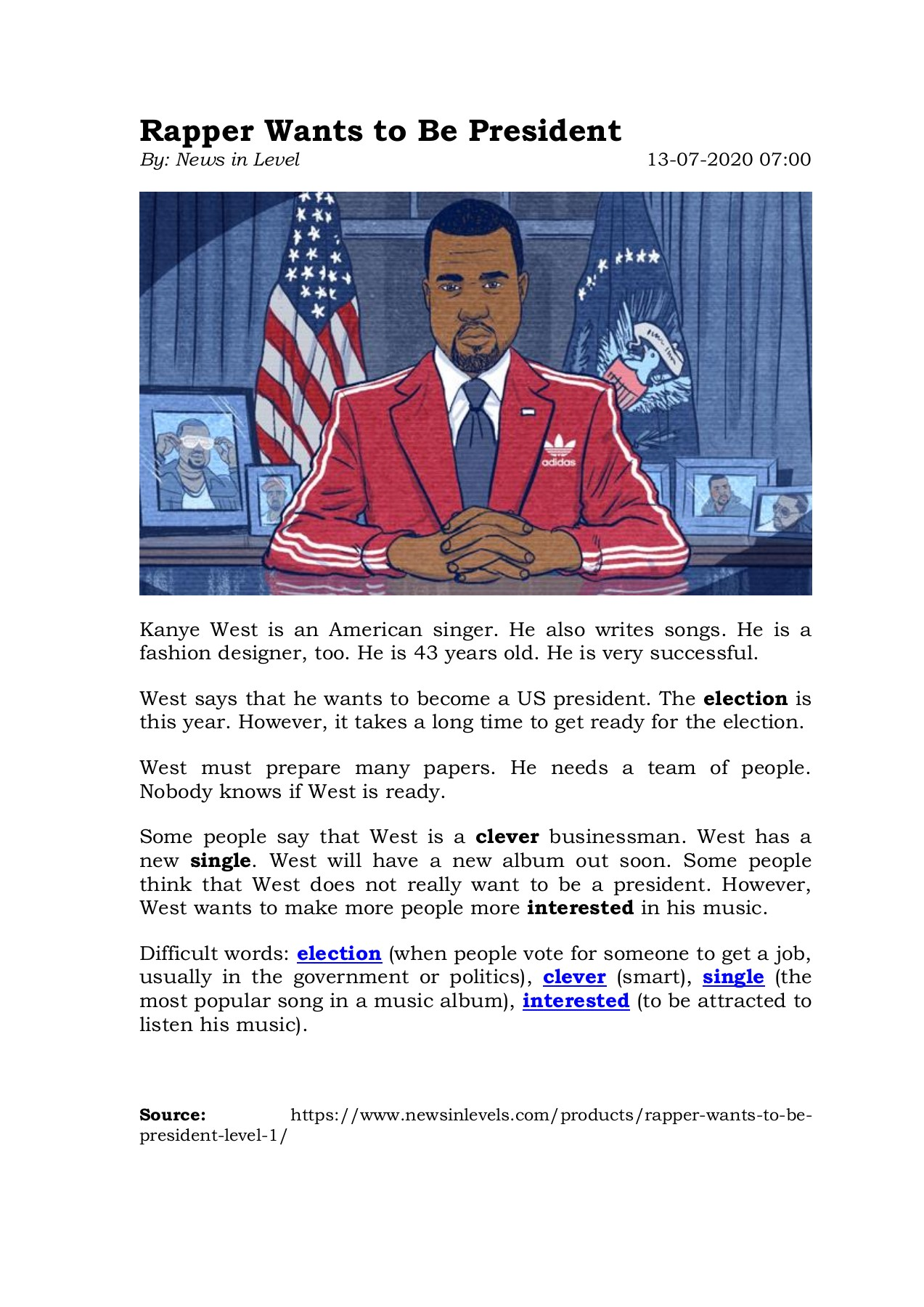 Rapper Wants To Be President Flip Book Pages 1 1 Pubhtml5