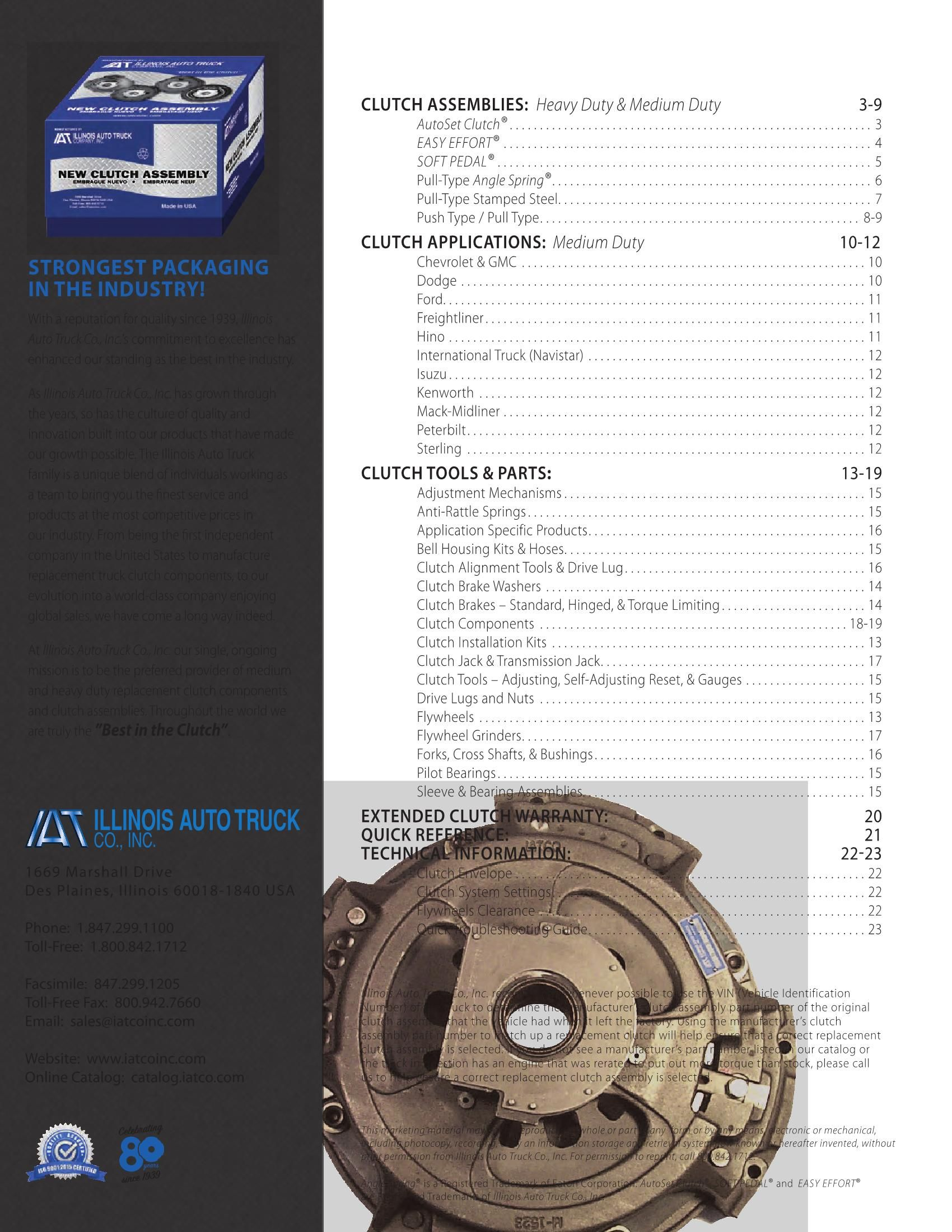 2, Single Piece Design World American 127760X Clutch Brake