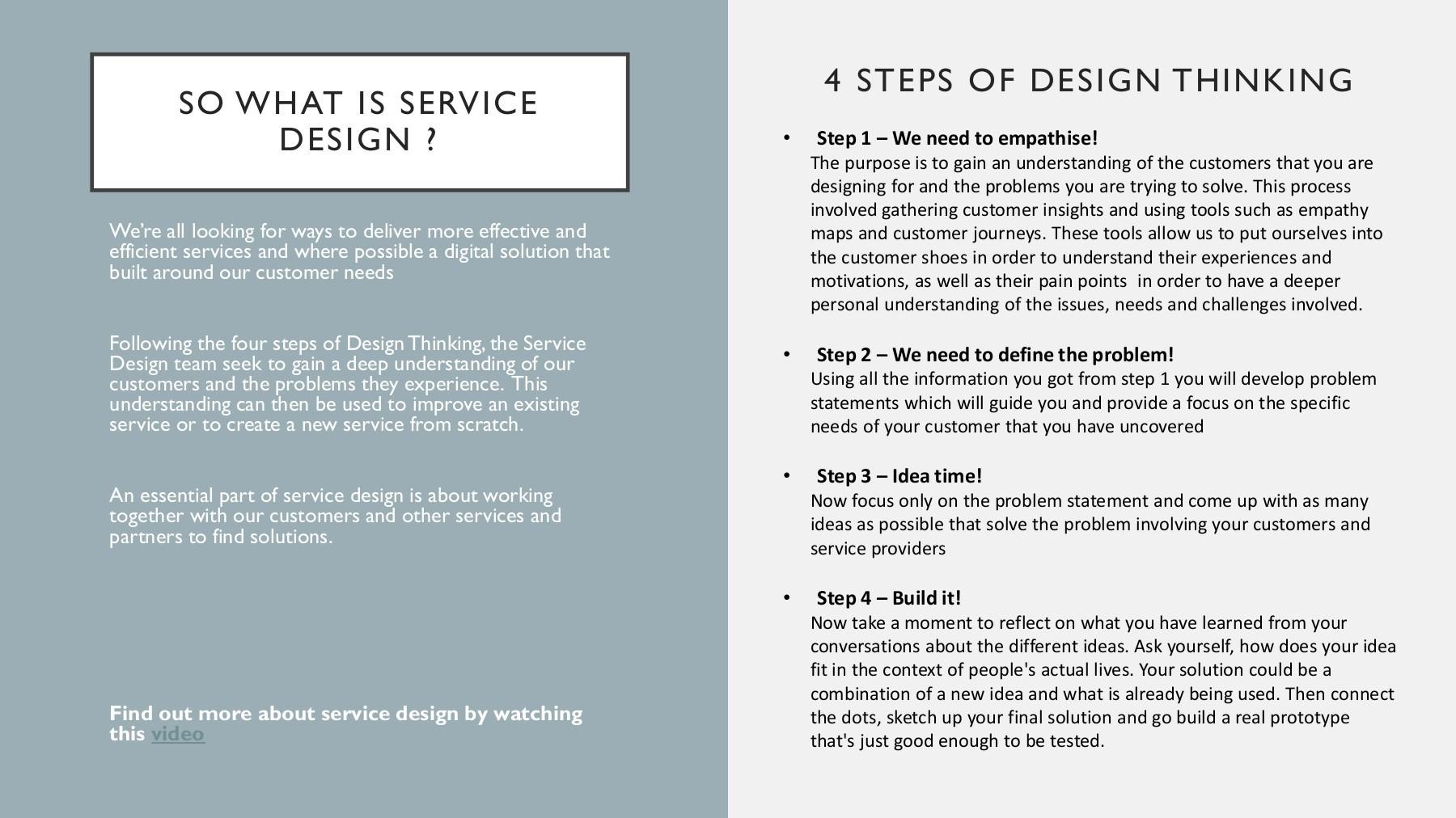 Service Design Flip Book Pages 1 3 Pubhtml5