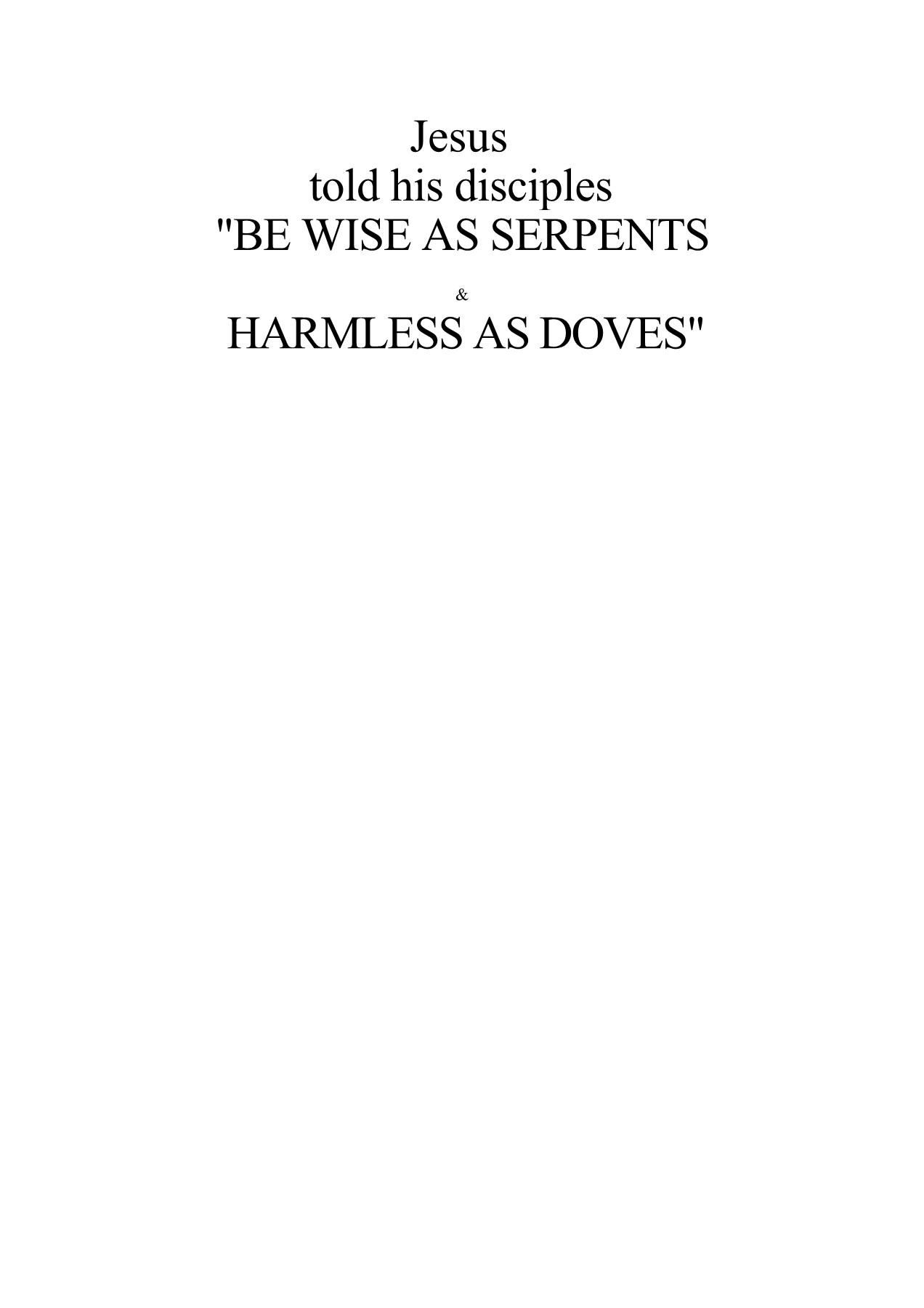 Be Wise As Serpents By Fritz Springmeier Guy Boulianne Flip Pdf Online Pubhtml5