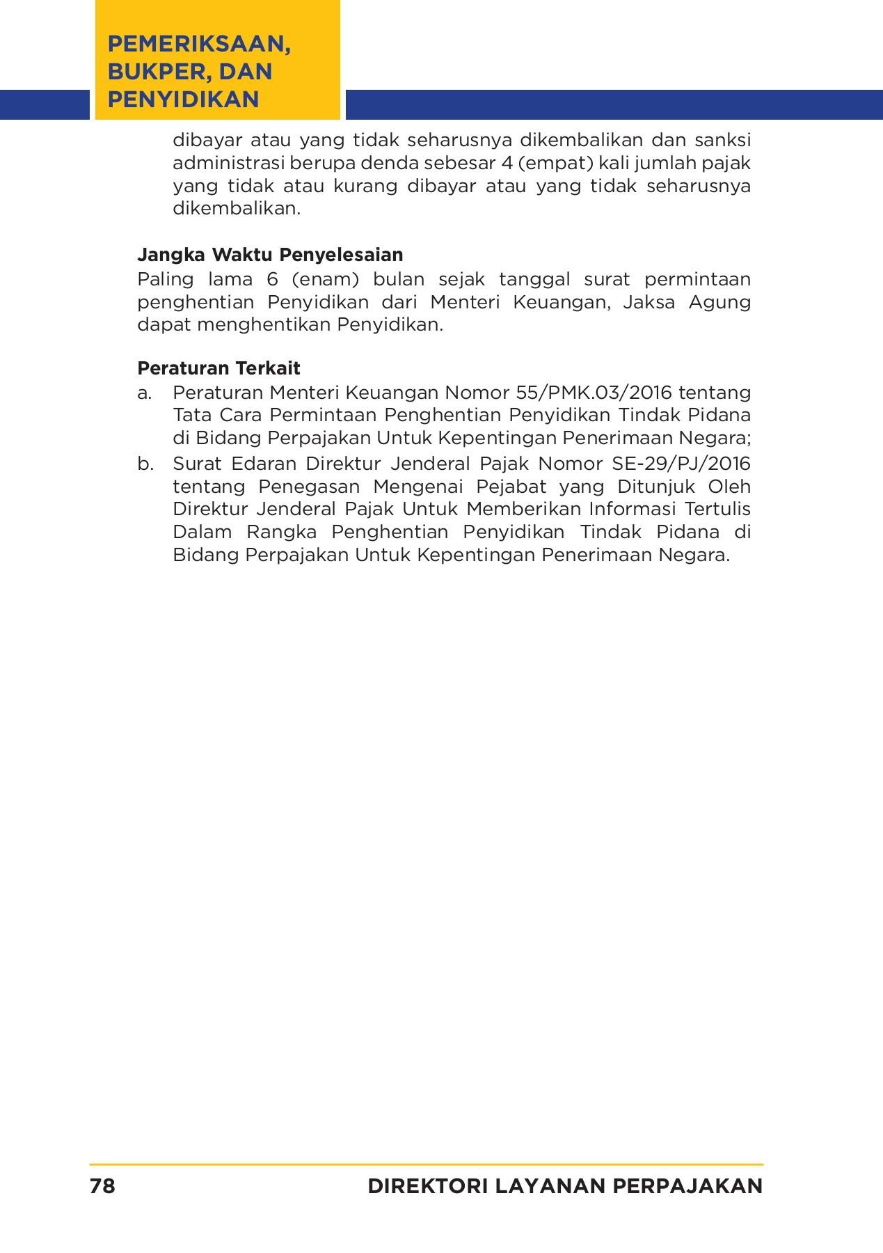 Direktori Layanan Perpajakan Flip Book Pages 101 150 Pubhtml5