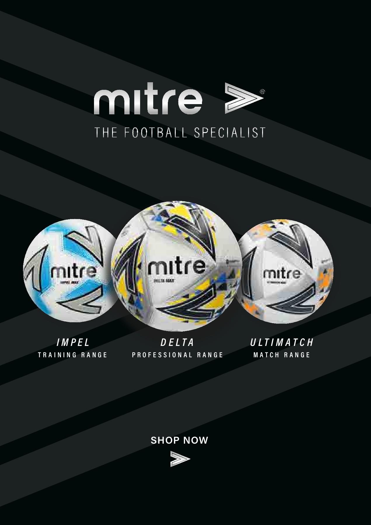 Mitre Impel MAX 10 mix White//Yellow Footballs Plus FREE Mesh Bag