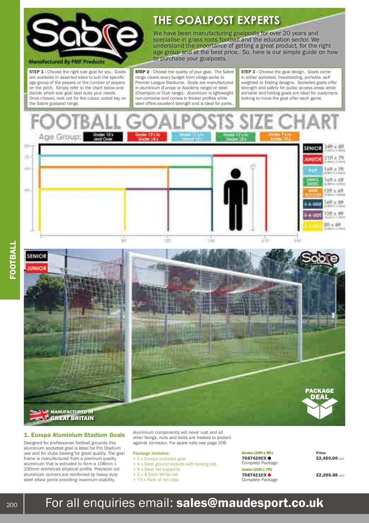 Gilbert Netball Post Academy Set//Replacement Net//Ring Wall Mount-Sold Separately