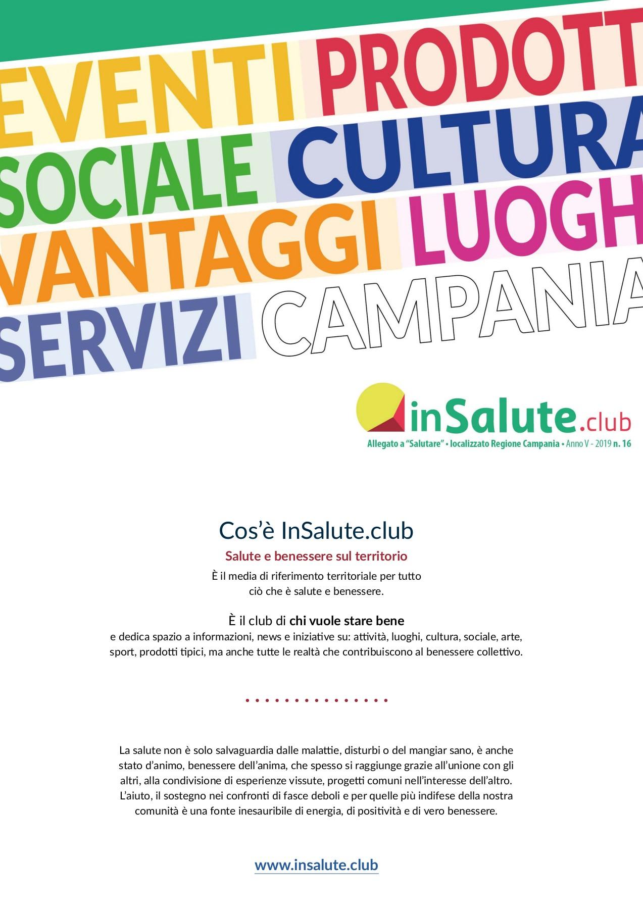 In Salute Club 16 Insalute Club Flip Pdf Pubhtml5