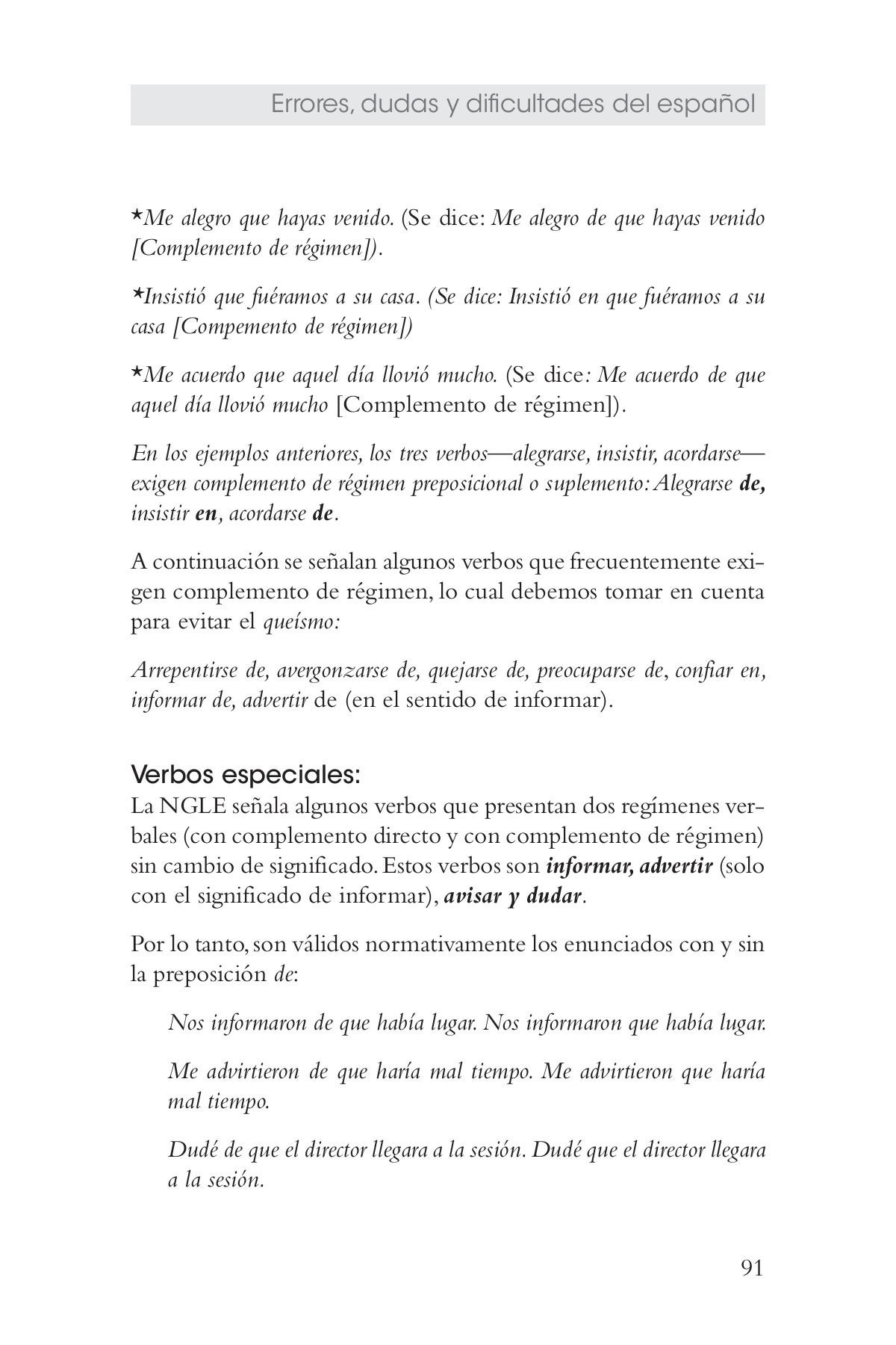 Como Se Escribe 91 En Numeros Romanos errores, dudas y dificultades del español pages 101 - 150