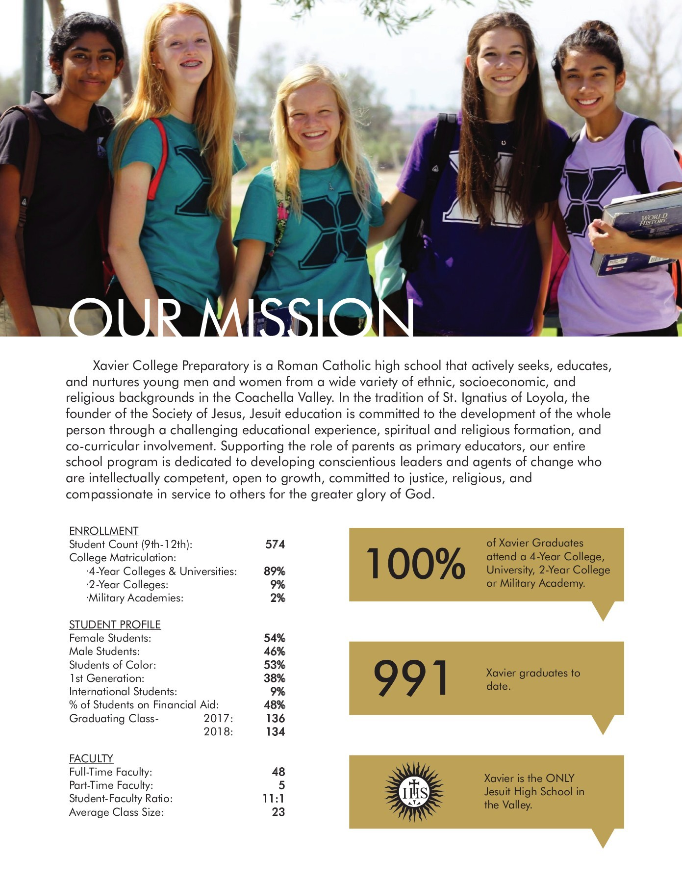 Ana Maria Lepe xavier college prep 2017-2018 pages 1 - 20 - text version