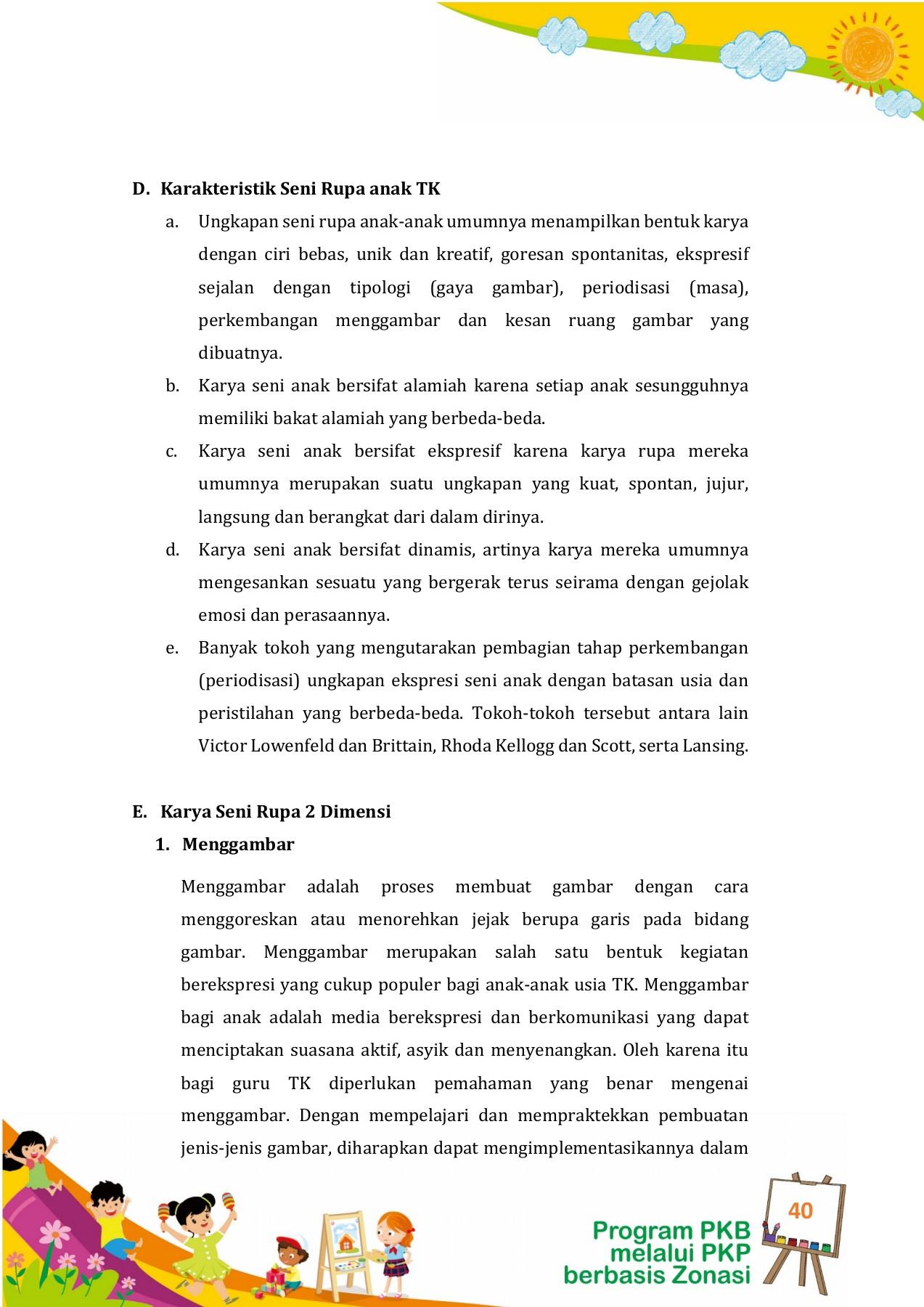 Unit Pembelajaran 15 Pengembangan Seni Flip Book Pages 51