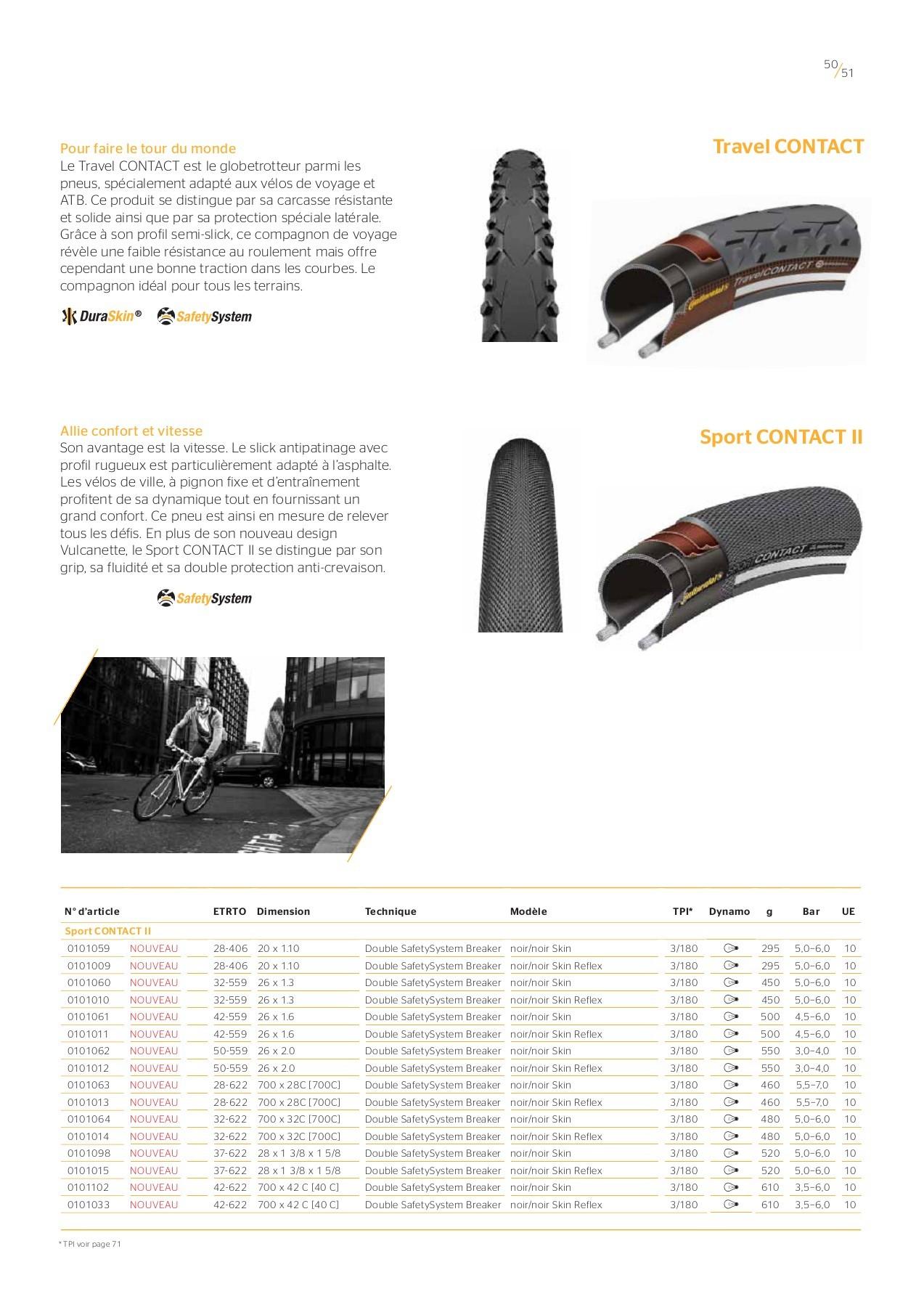 Continental mtb 28//29 x 1.75-2.5 pouces 60mm presta valve pour 29er tube intérieur