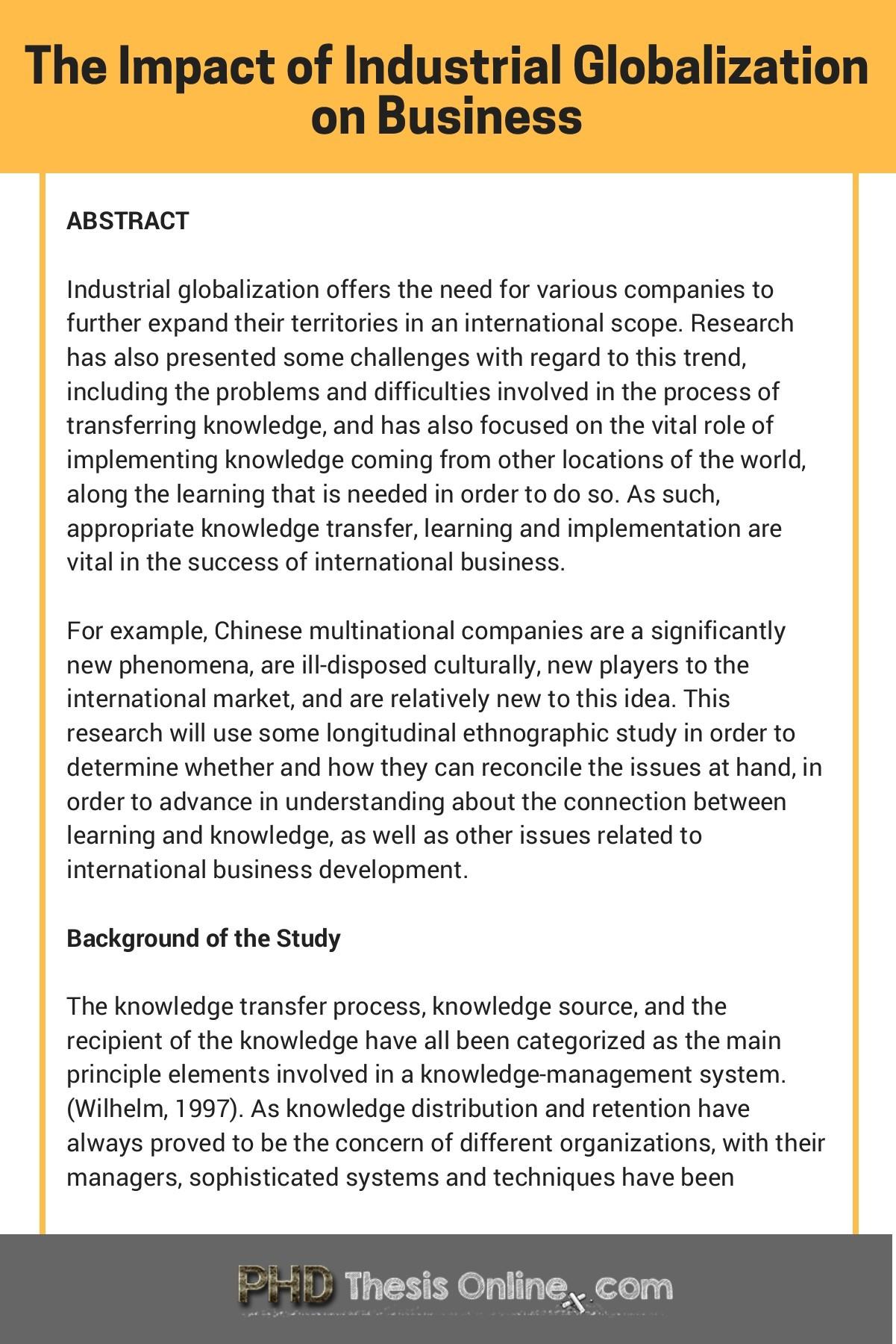 DBA Research Proposal Sample   PhD Thesis Online   Flip PDF Online ...