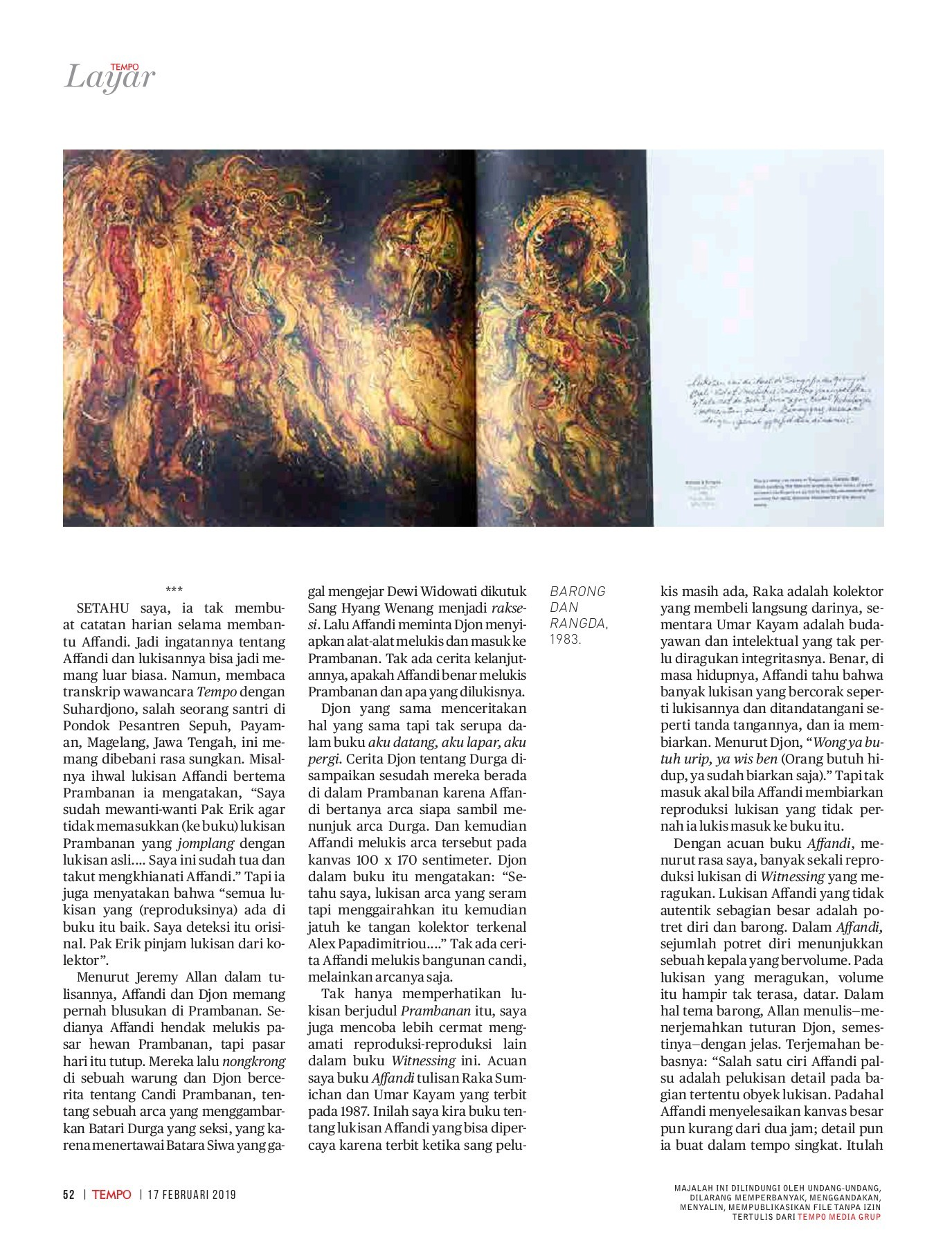 Tempo Majalah 2019 02 Flip Book Pages 51 100