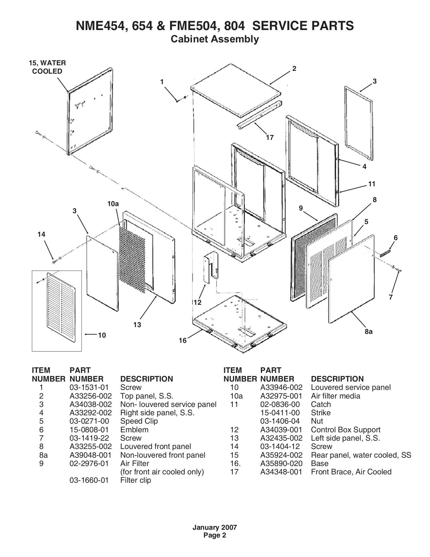 Scotsman 12-2835-22 Service Circuit Board