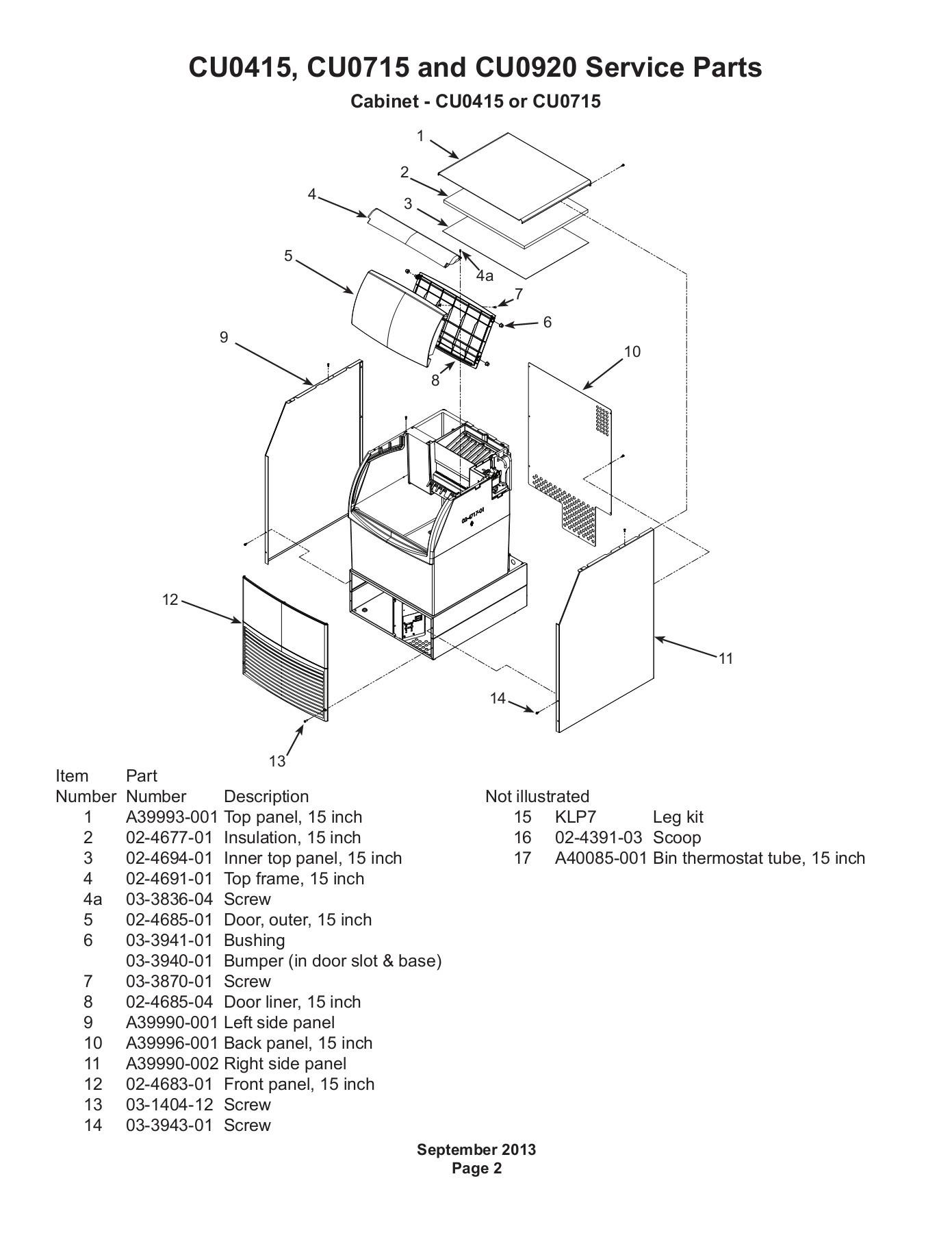 Scotsman 18-8960-52 Capacitor Start