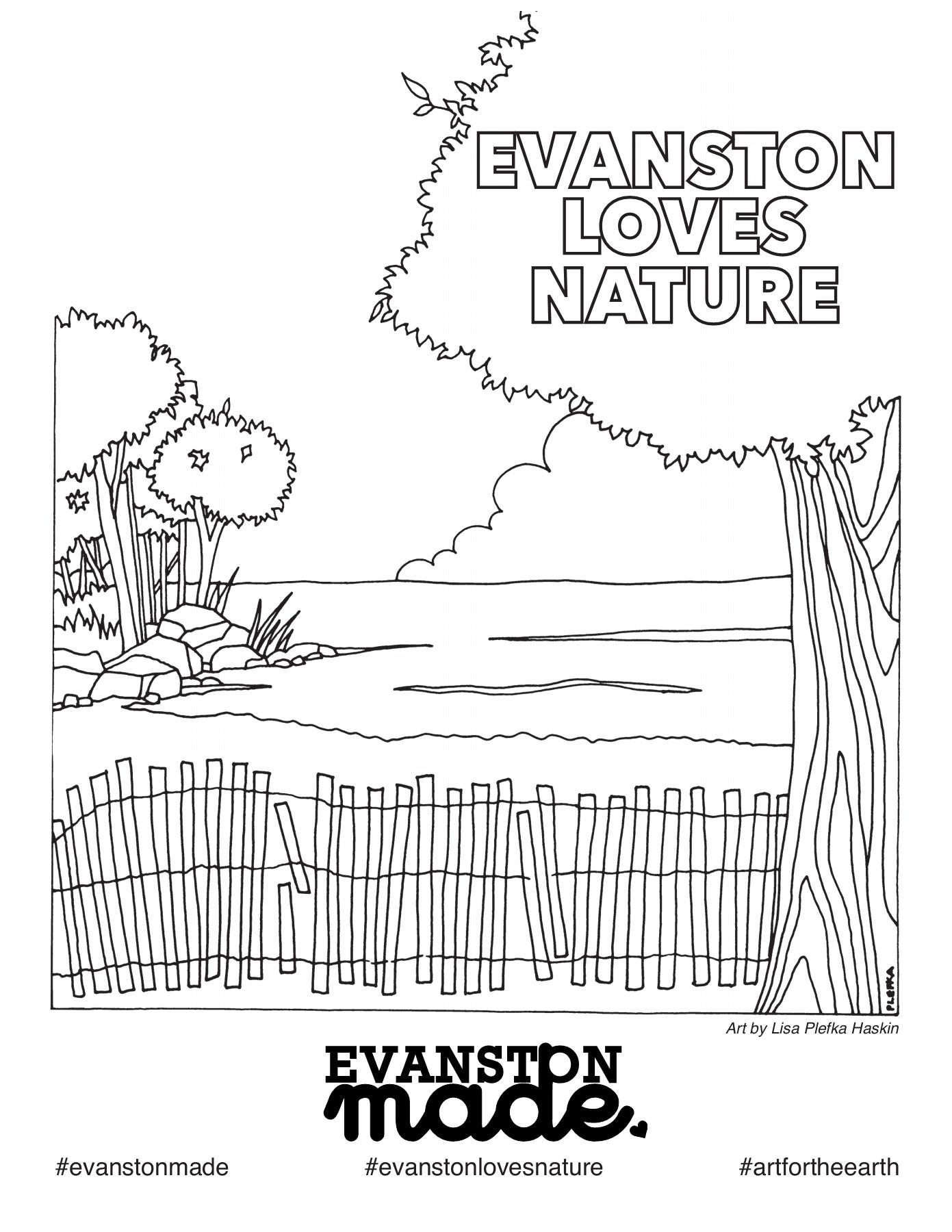Evanston Loves Nature Coloring Book Kathy Flip Pdf Pubhtml5