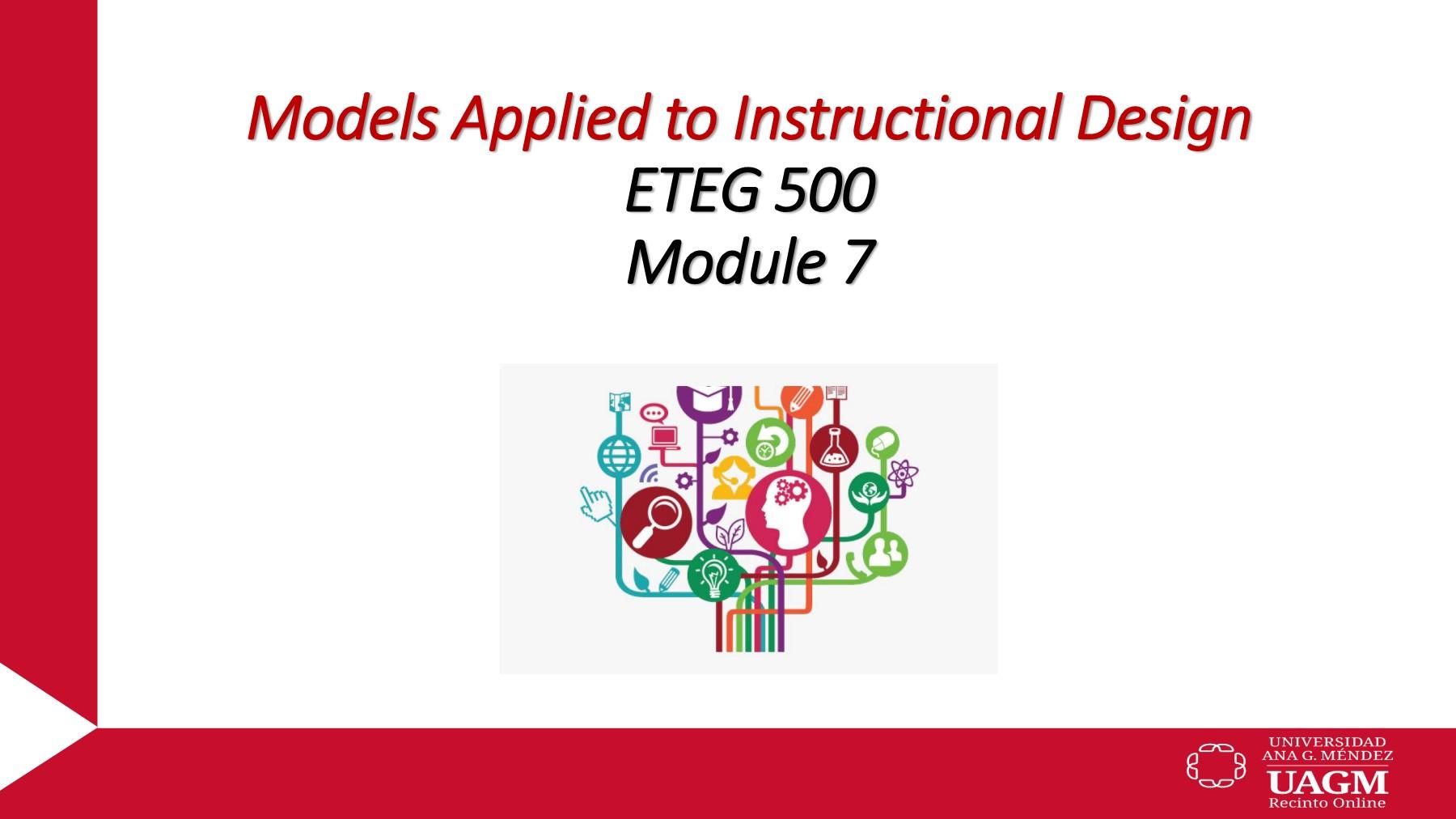 English Modulo 7 Eteg 500 Innovative Tools For The Development Of Instructional Design Recinto Online Flip Pdf Pubhtml5