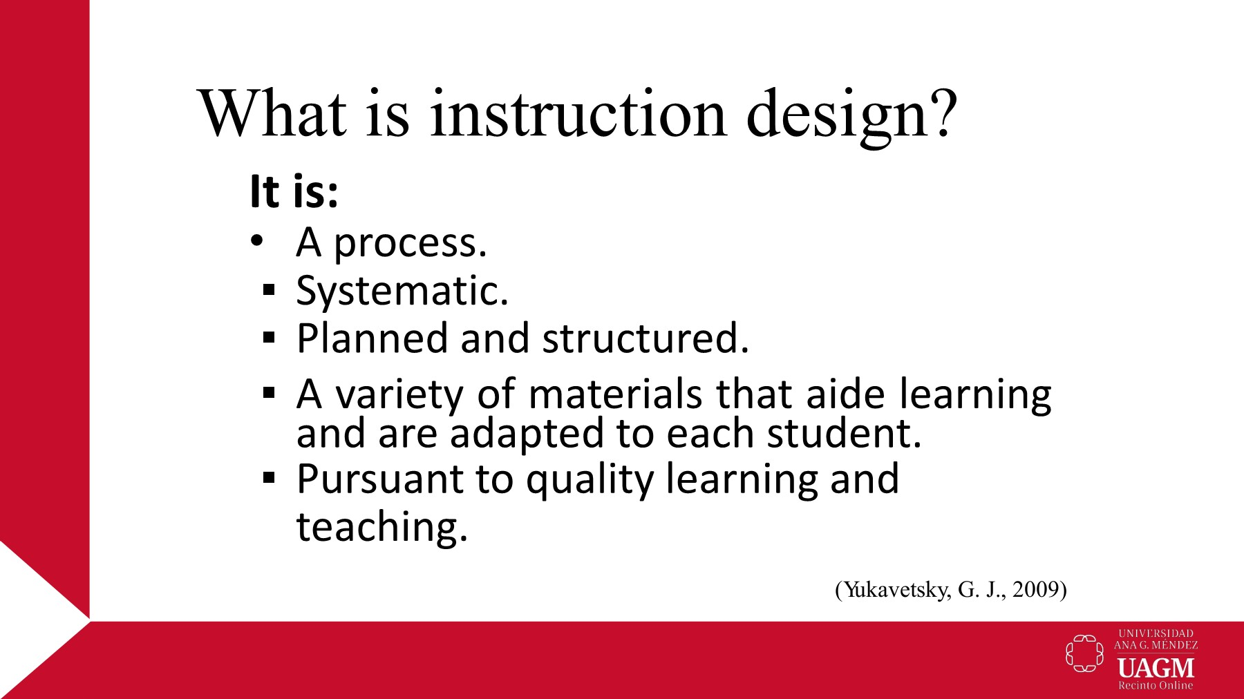 English M1 Introduction To Instructional Design Flip Book Pages 1 7 Pubhtml5