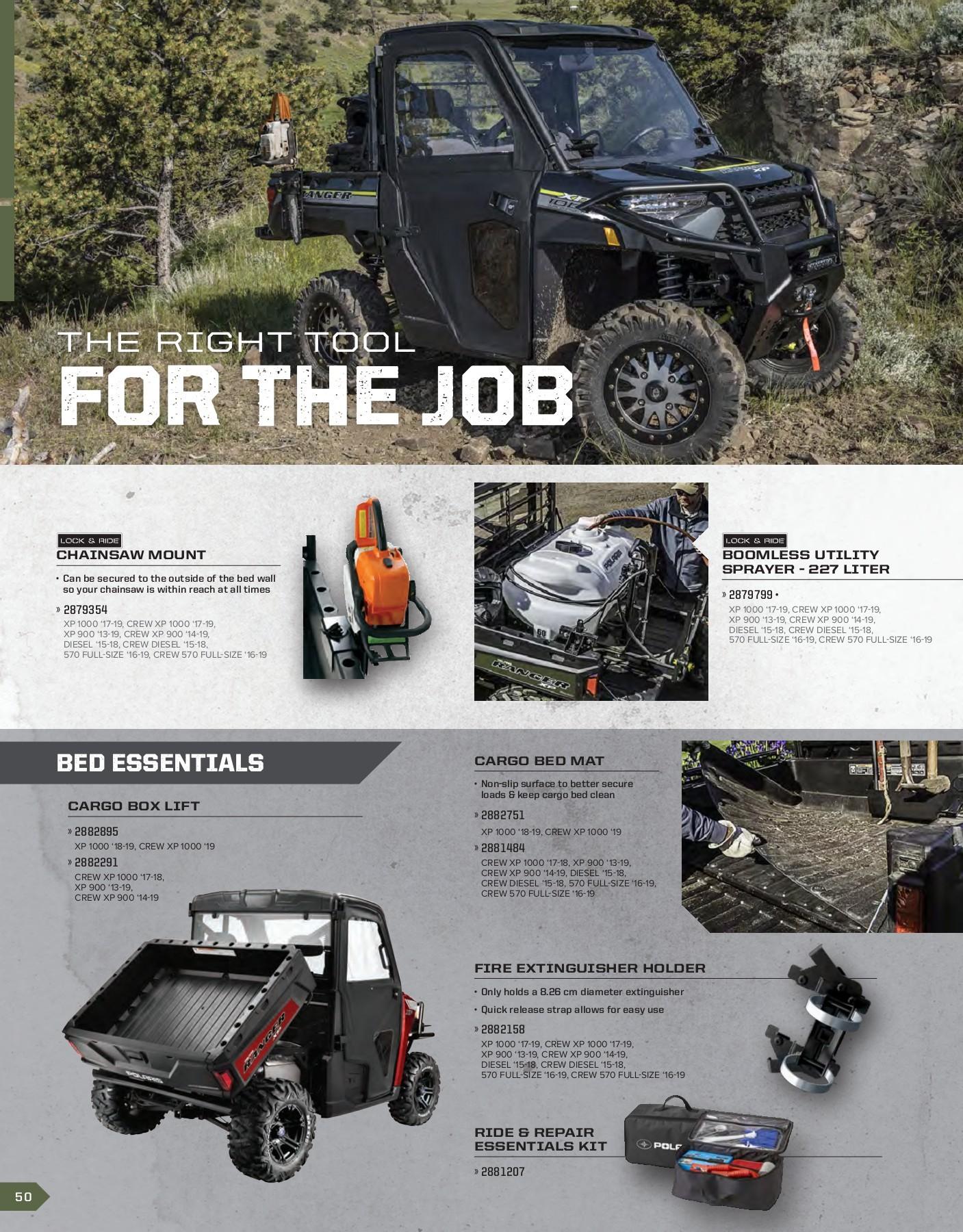 Polaris New Oem Ranger Front Hood Storage Black 2881459 Hoods