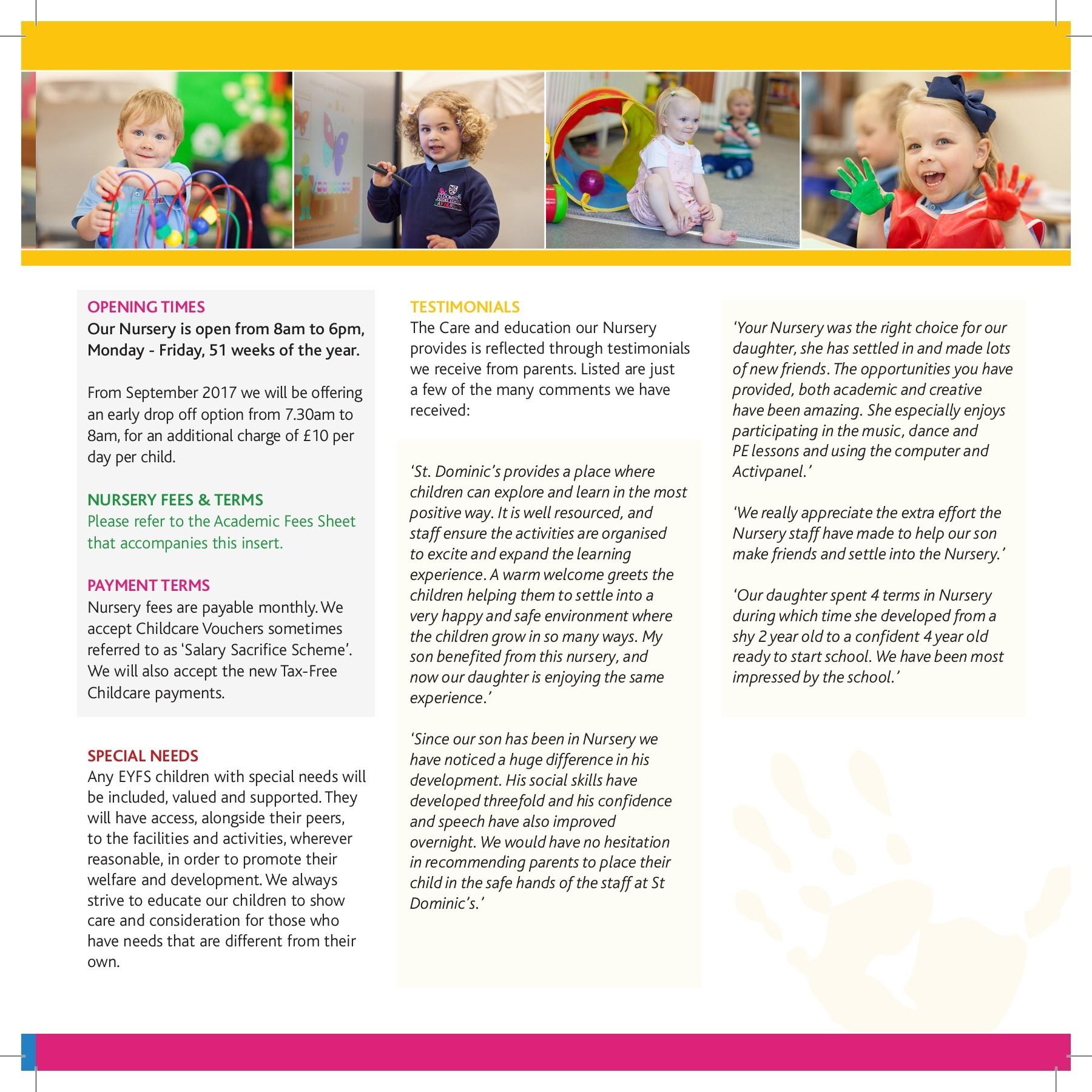 Nursery Prospectus 2017 18 Flip Book