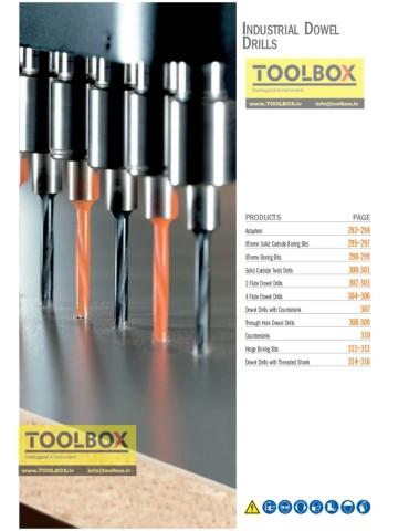 CMT 310.080.21 carbide dowell drill RH