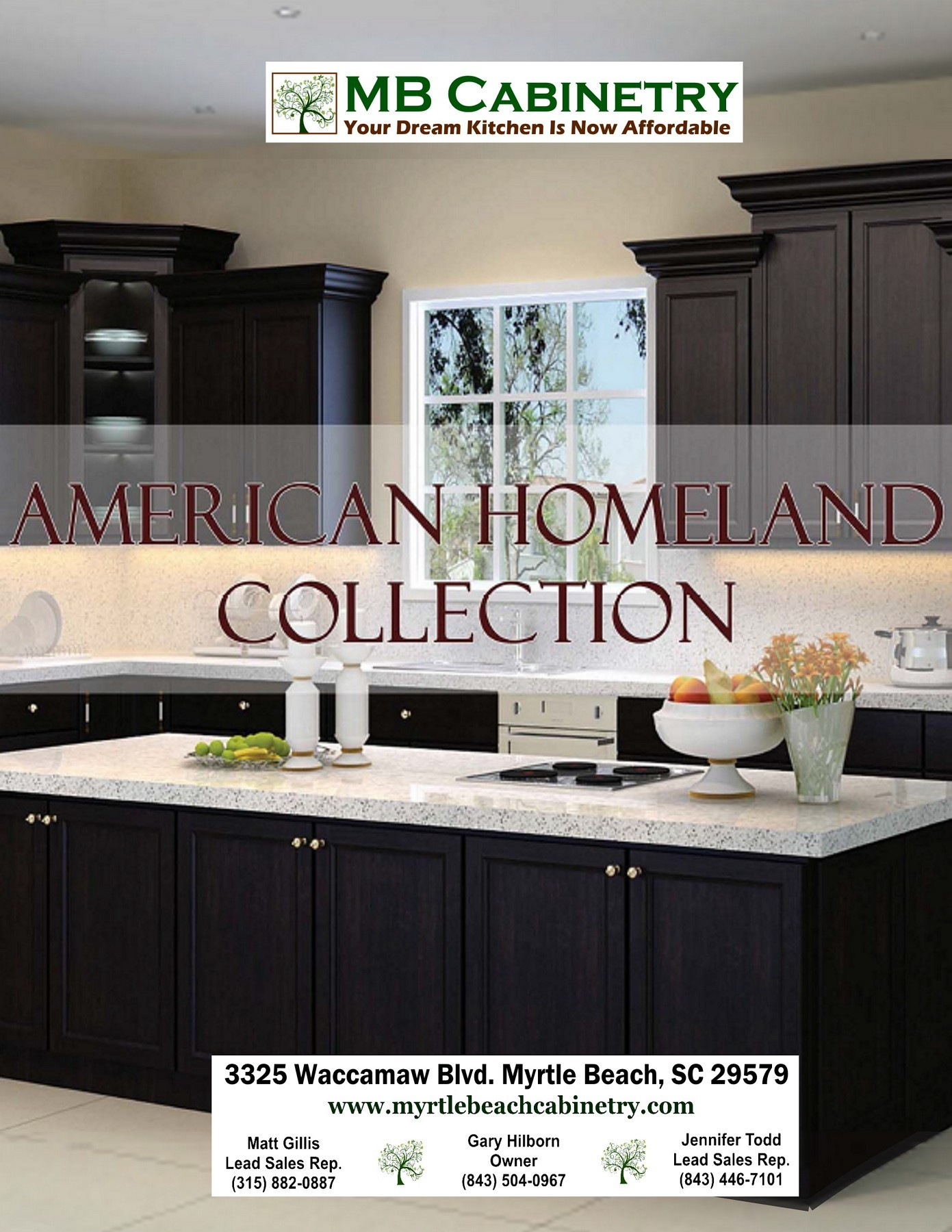 American Homeland Collection Cabinets