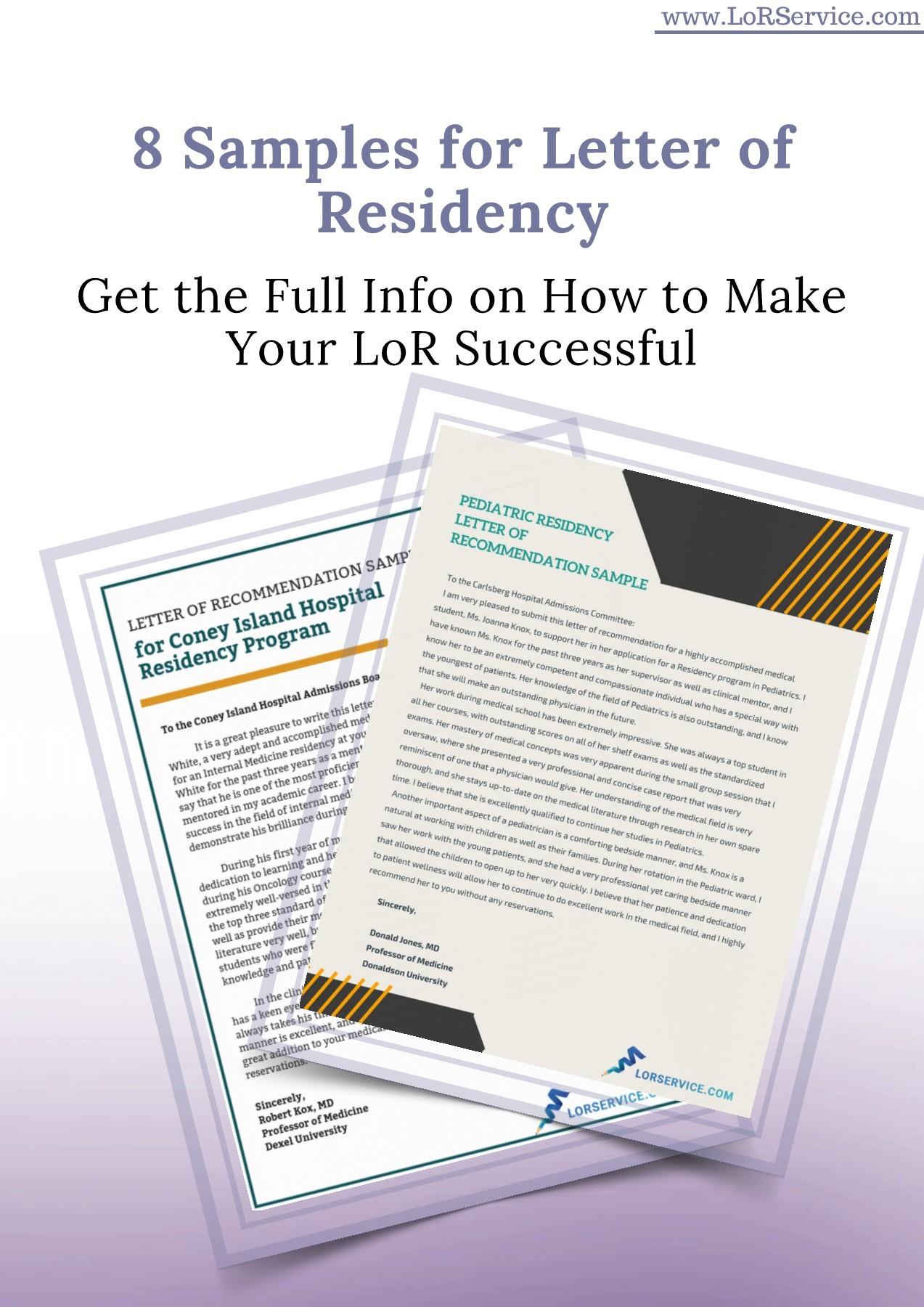 Letter Of Residency Sample from online.pubhtml5.com