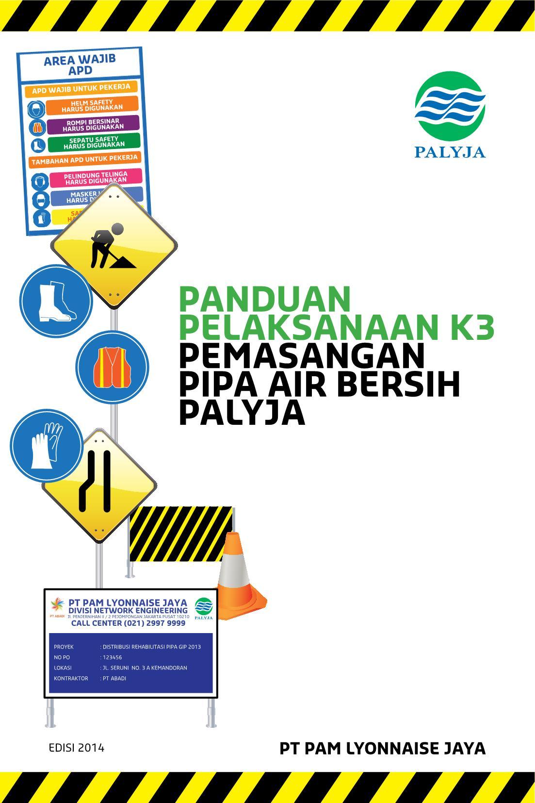 Layout Panduan Pelaksanaan K3 Pemasangan Pipa Air Bersih Flip Book Pages 1 50 Pubhtml5