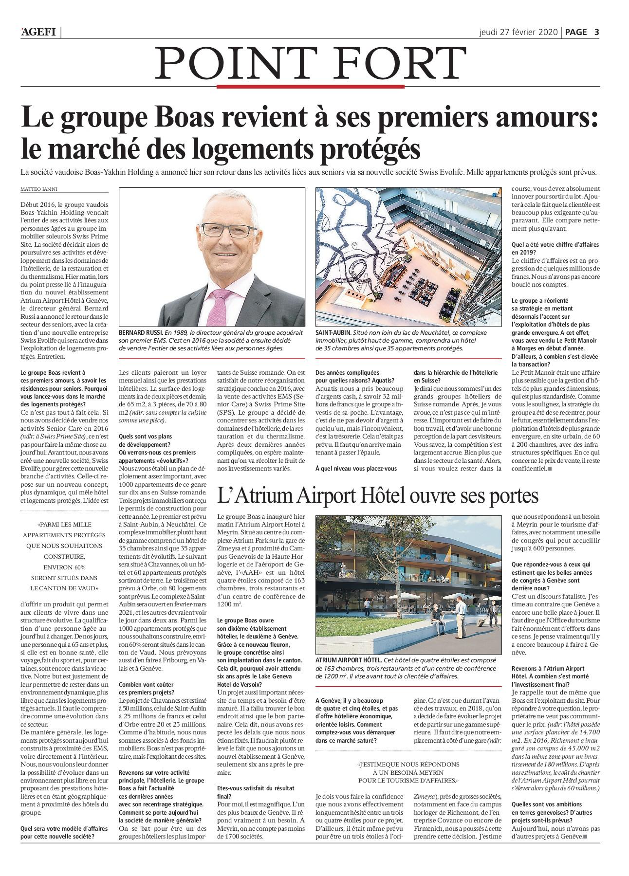 Bonus Porte Interne 2018 agefi quotidien 27.02.2020-flip book pages 1-18 | pubhtml5