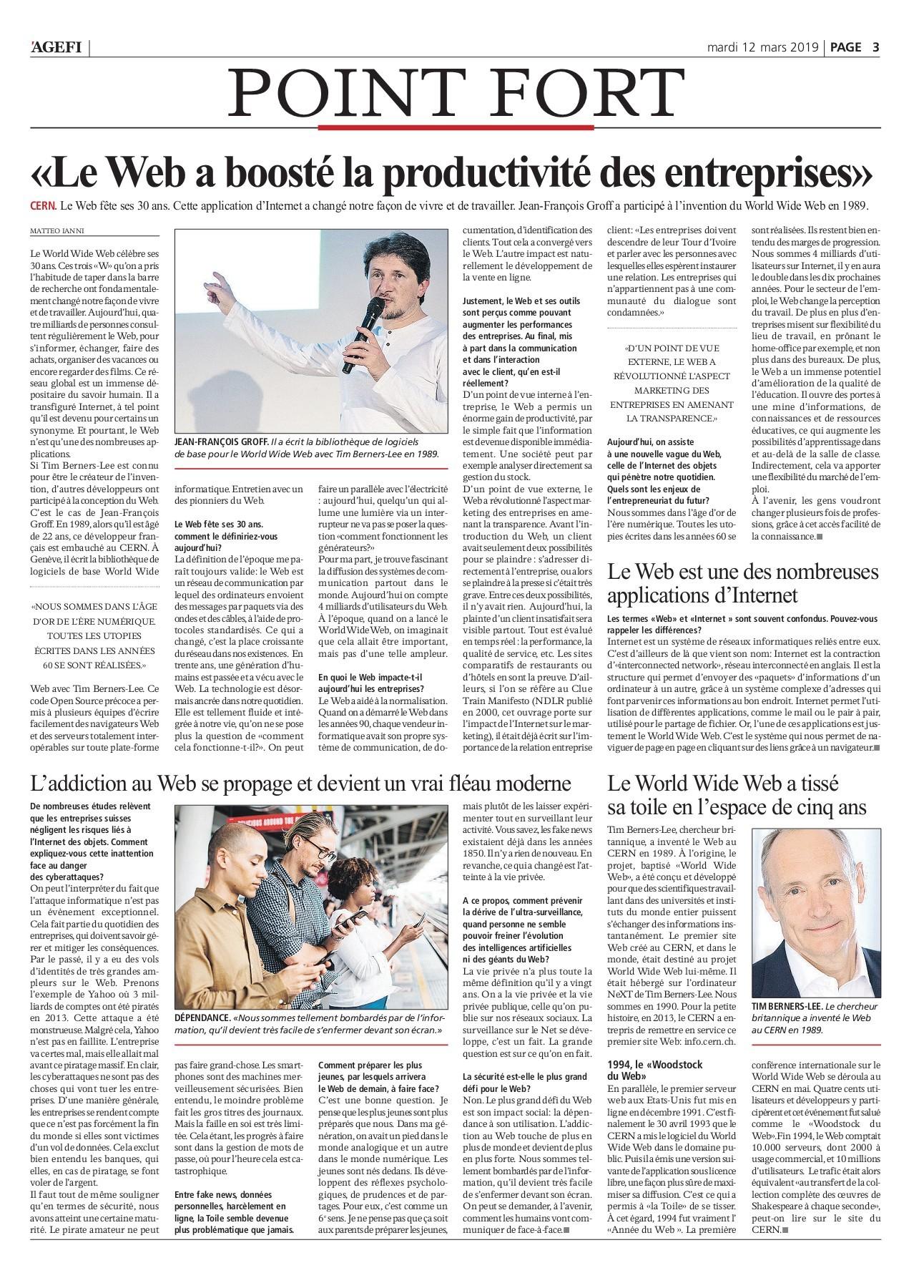 Agefi Quotidien 12 03 2019 Flip Book Pages 1 20 Pubhtml5
