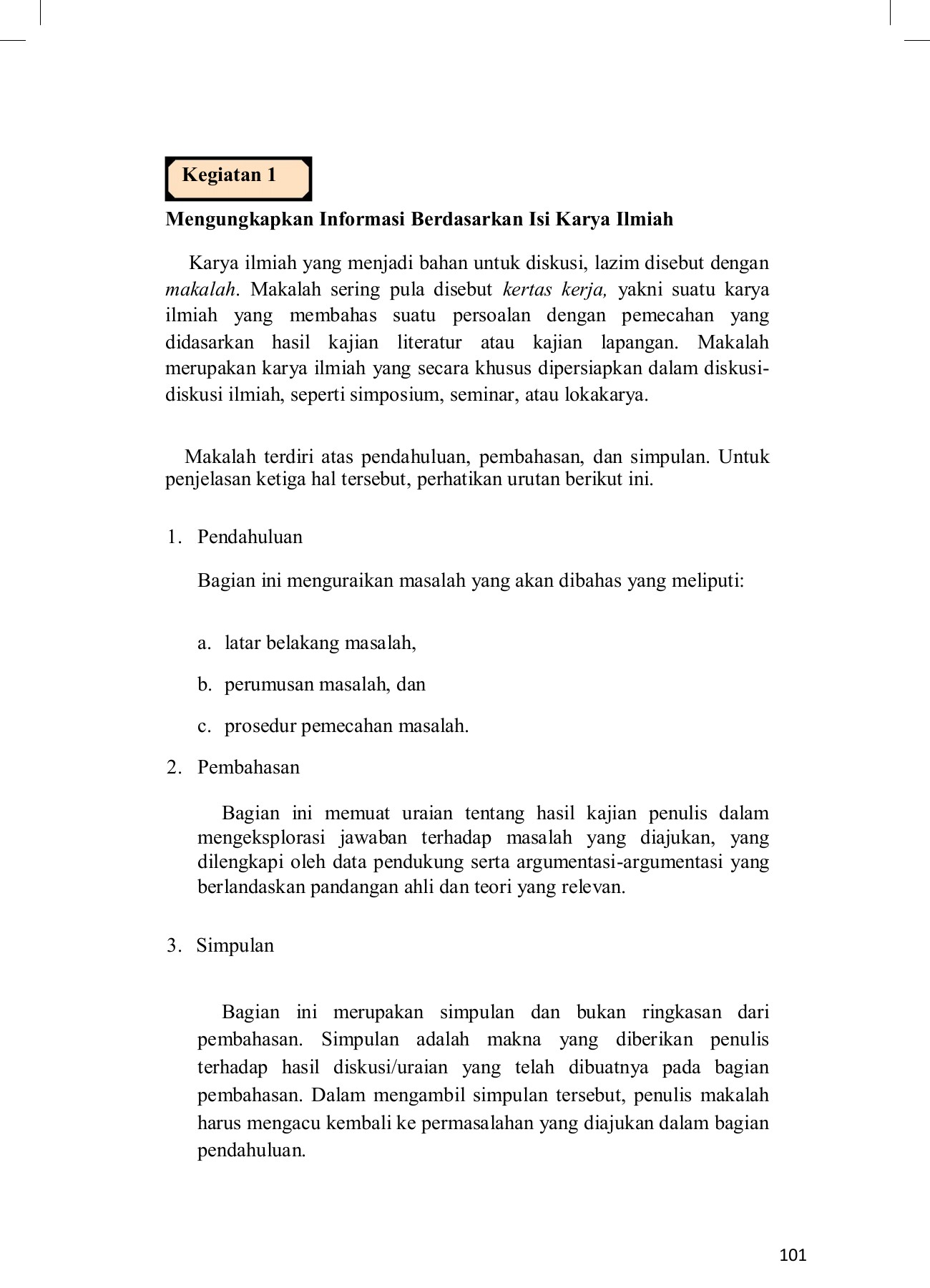 Modul Bahasa Indonesia Kelas Xi Raswan Kenedi Pdf Flip Book Pages 101 135 Pubhtml5