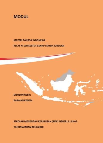 Modul Bahasa Indonesia Kelas Xi Raswan Kenedi Pdf Flip Book Pages 1 50 Pubhtml5