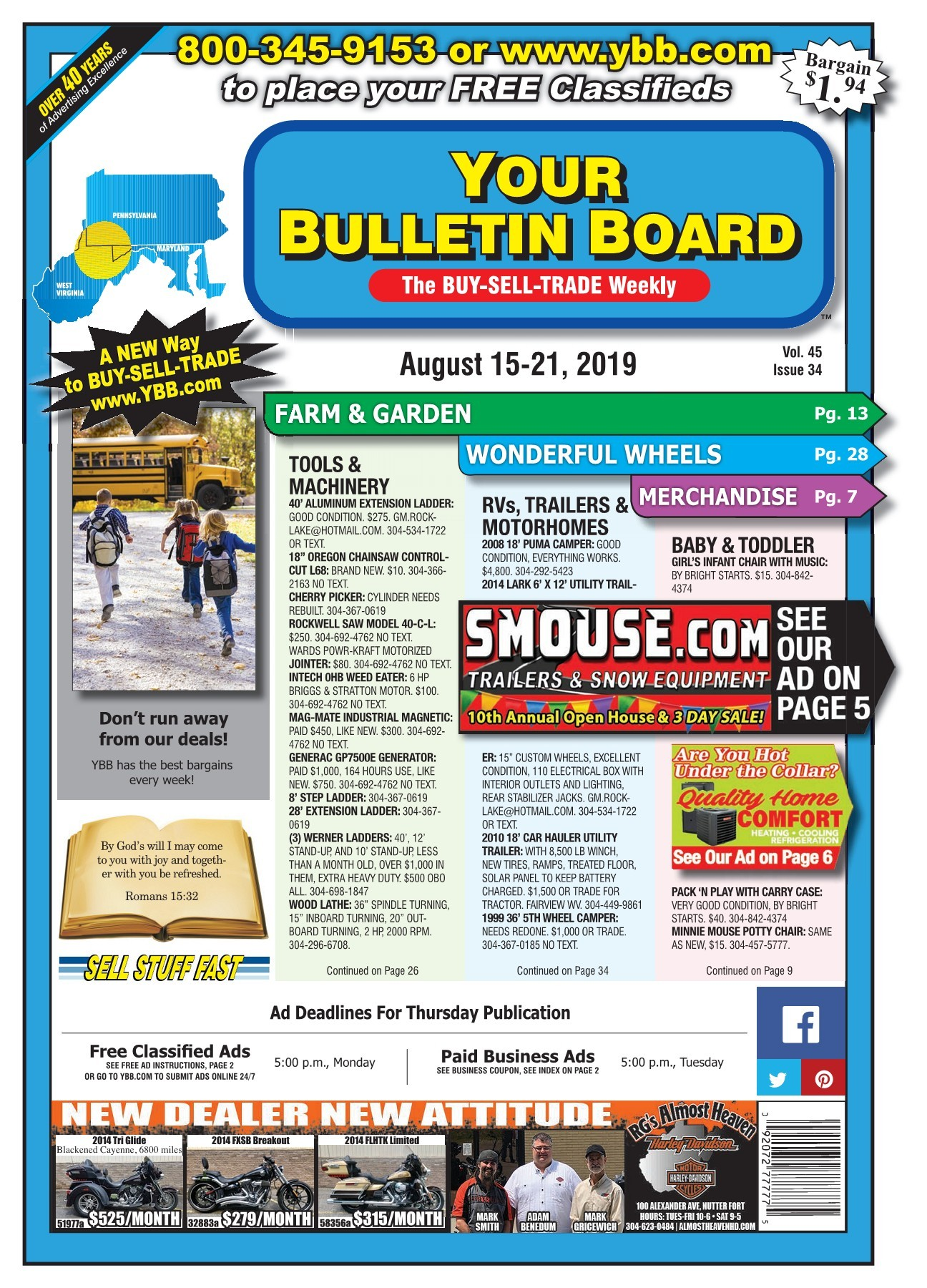 YBB20190815-Flip Book Pages 1-40 | PubHTML5