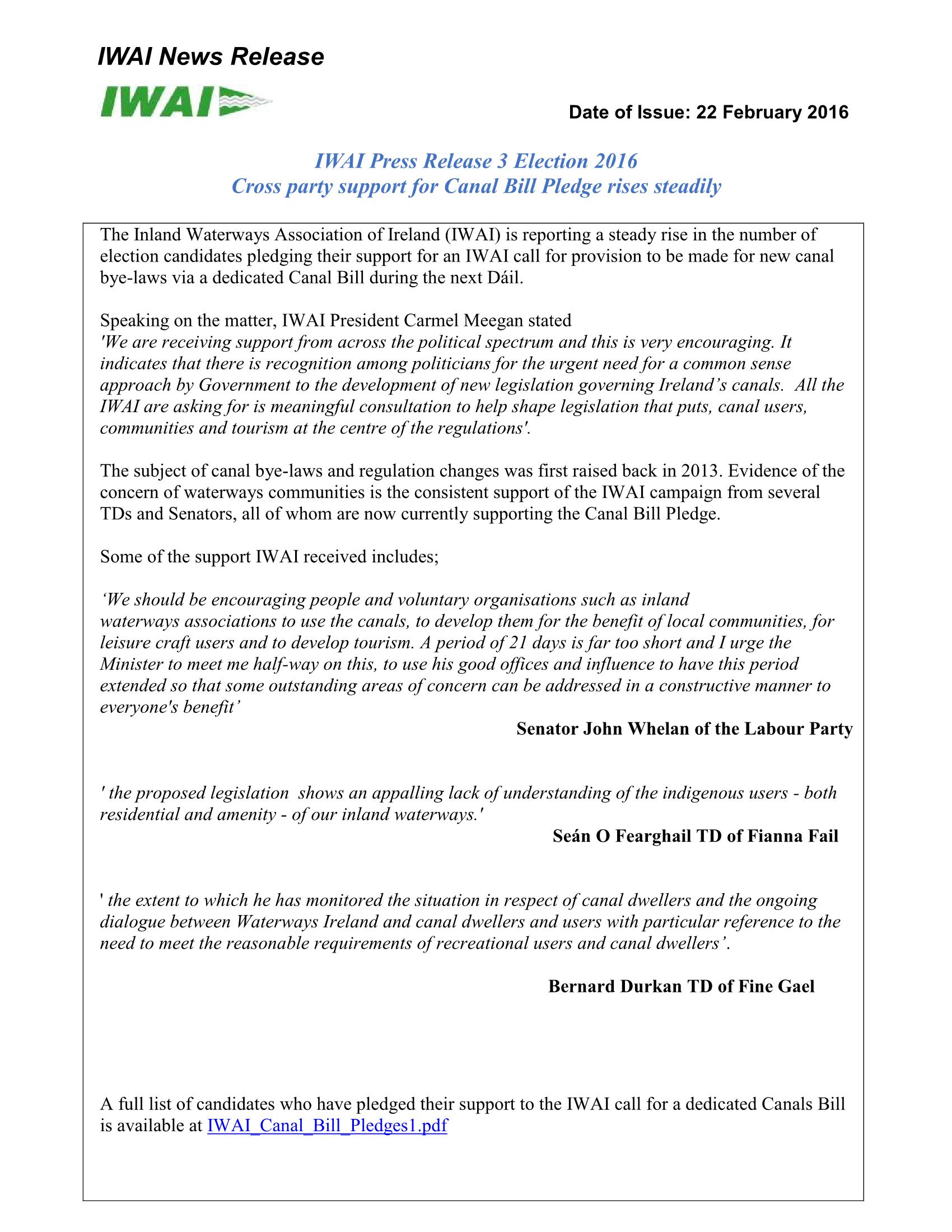 IWAI Press Release 3 Election 2016 Final v2-Flip Book Pages 1-2 ...