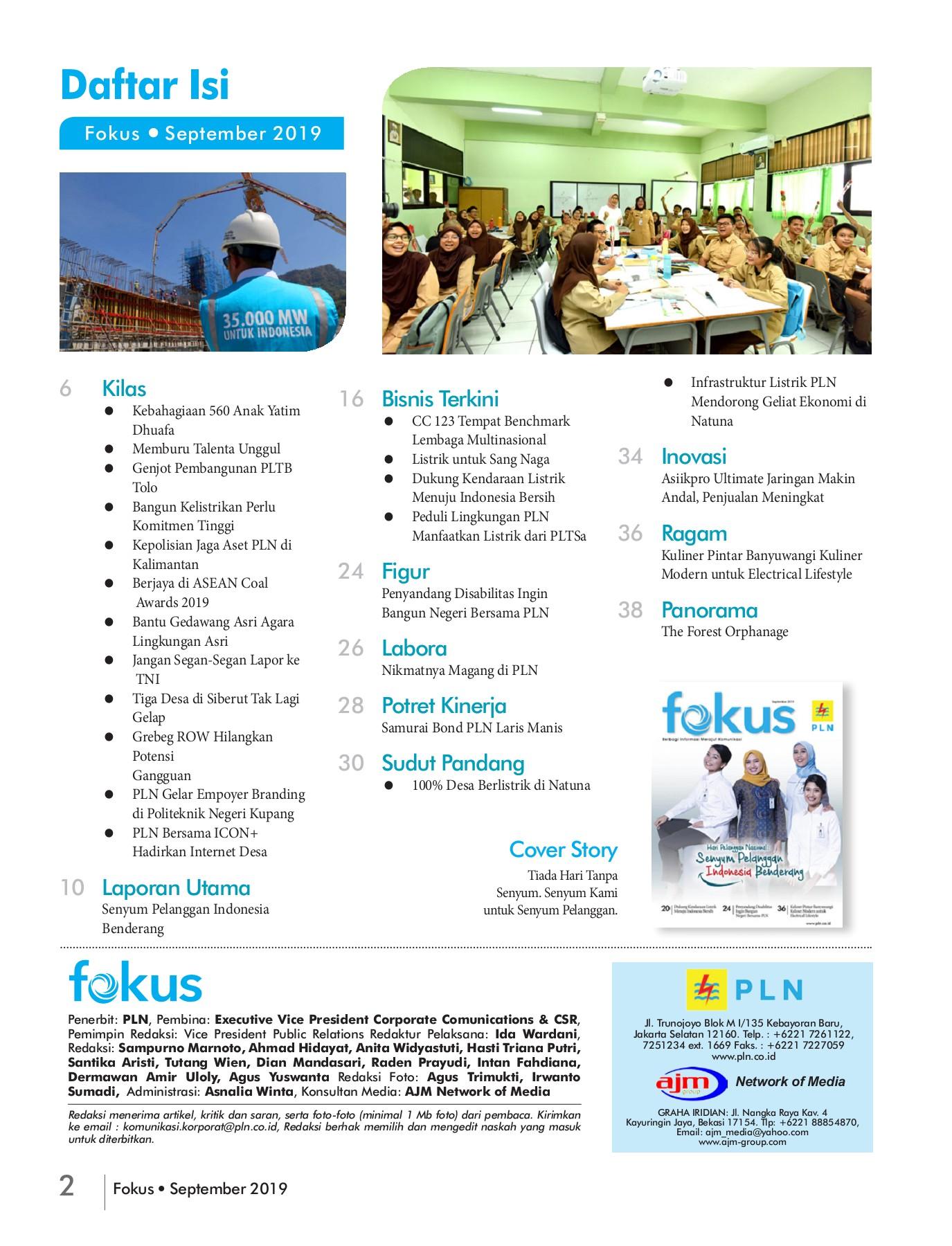 Layout Fokus September Flip Book Pages 1 40 Pubhtml5
