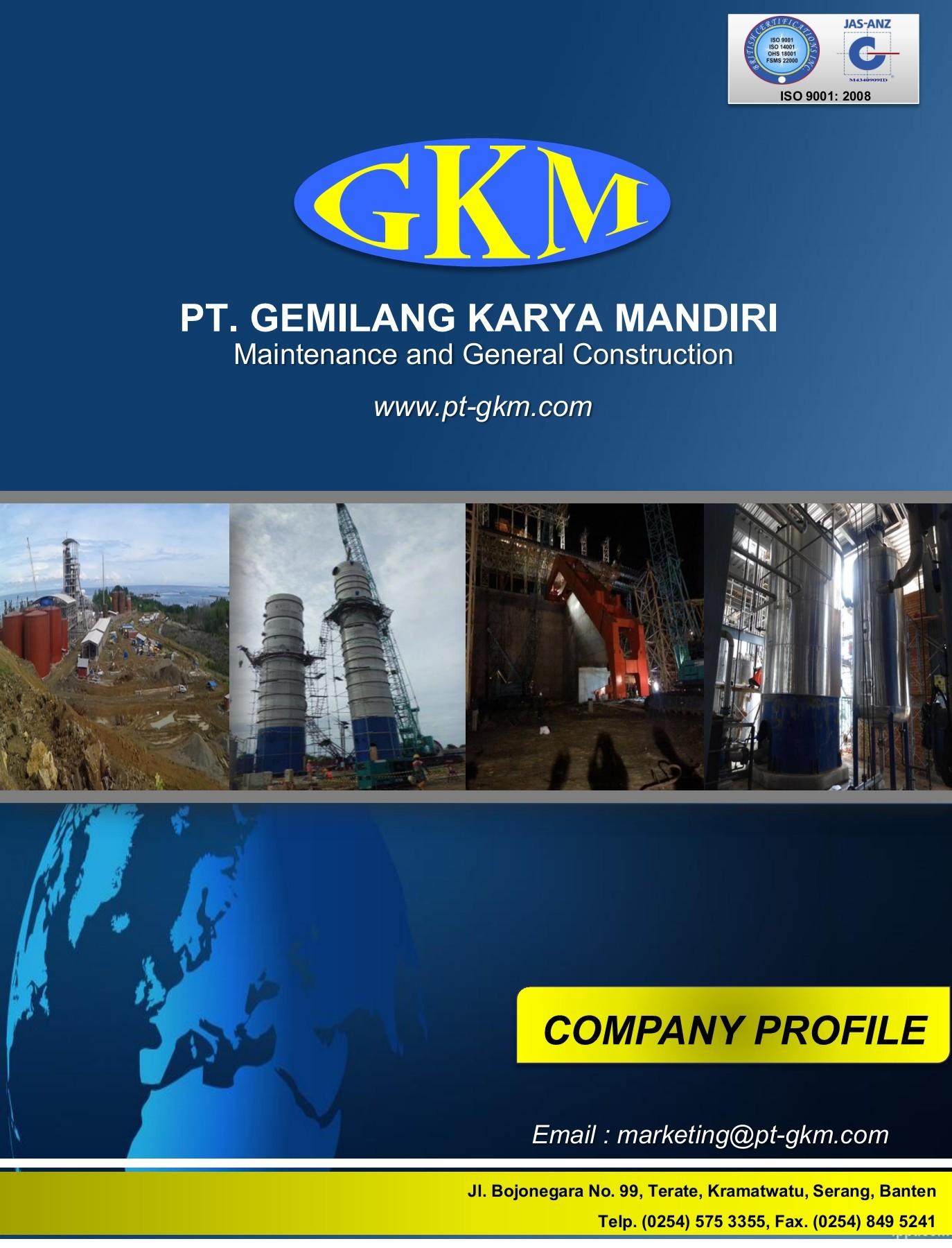 Company Profil Pt Gkm Flip Book Pages 1 35 Pubhtml5