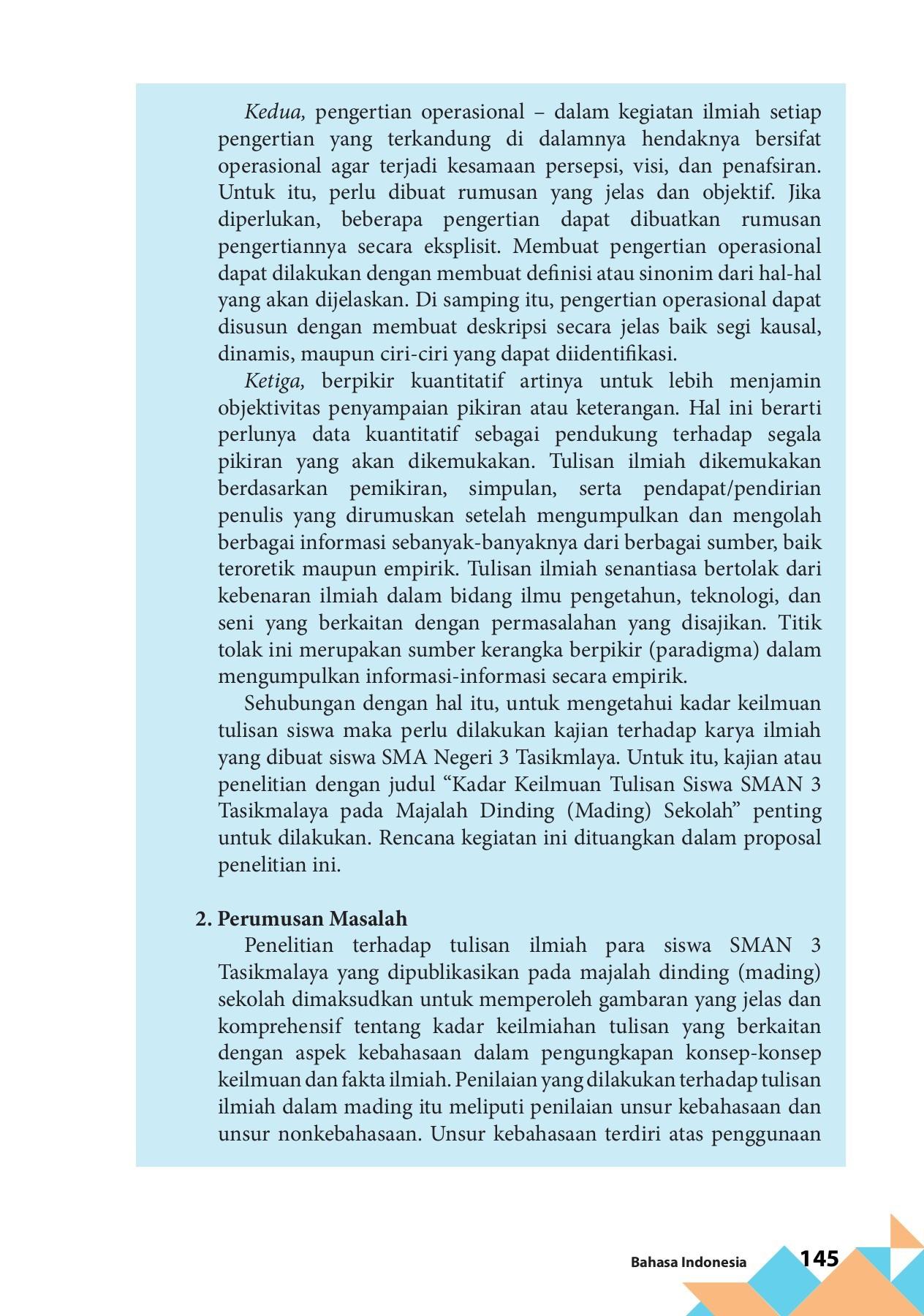 Bahasa Indonesia Kelas 11 By Sartono Flip Book Pages 151 200 Pubhtml5