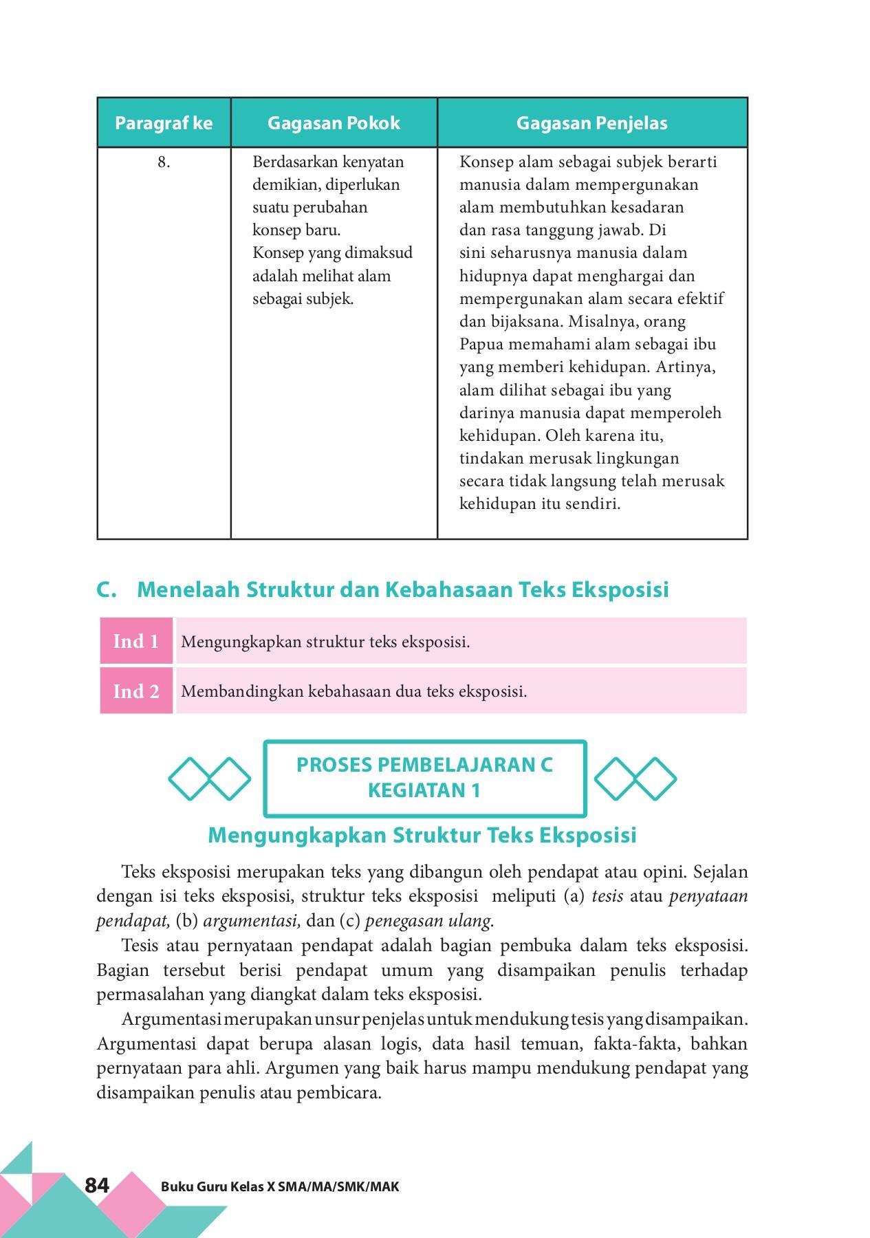 Buku Paket Digital Mapel Bindo 10 2017 By Sartono Flip Book
