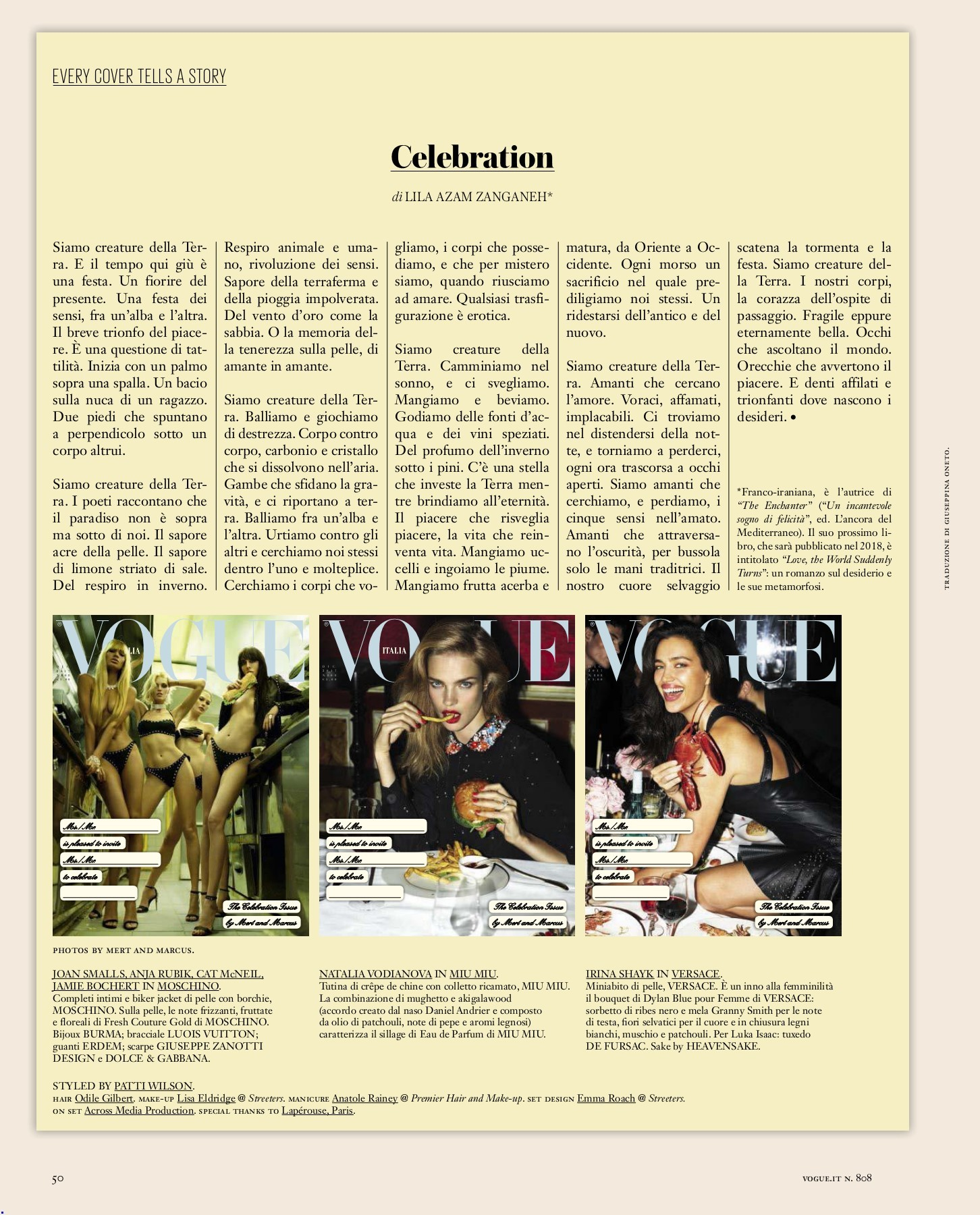 Asia Preziosi Porn Falsa Apparenza vogue italia_dic 2017-flip book pages 51-100   pubhtml5