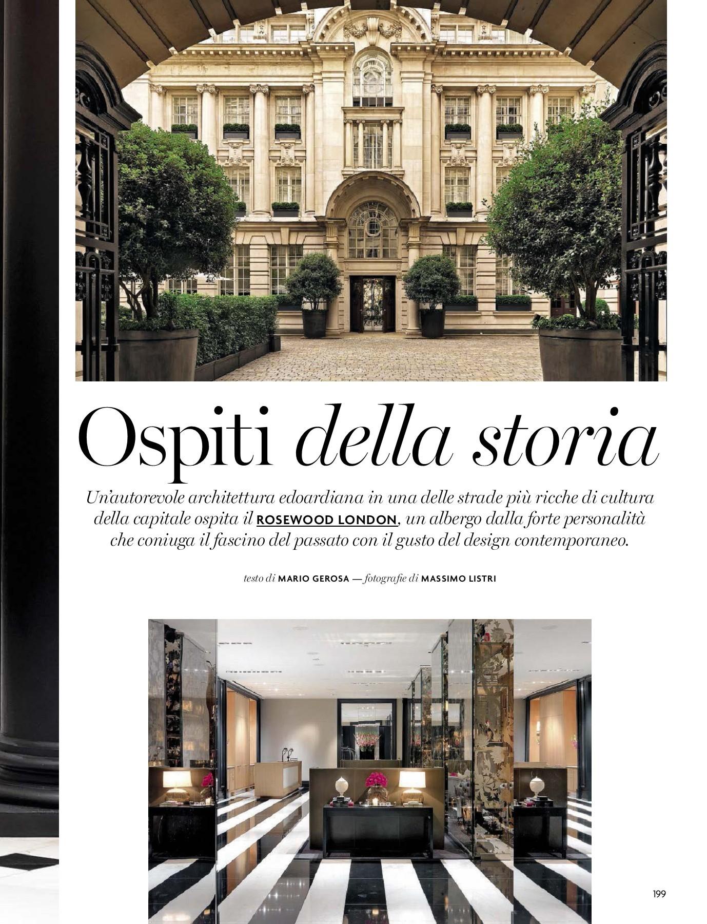 Di Tommaso Arredamenti Ostia architectural digest italia_oct 2017-flip book pages 201-229