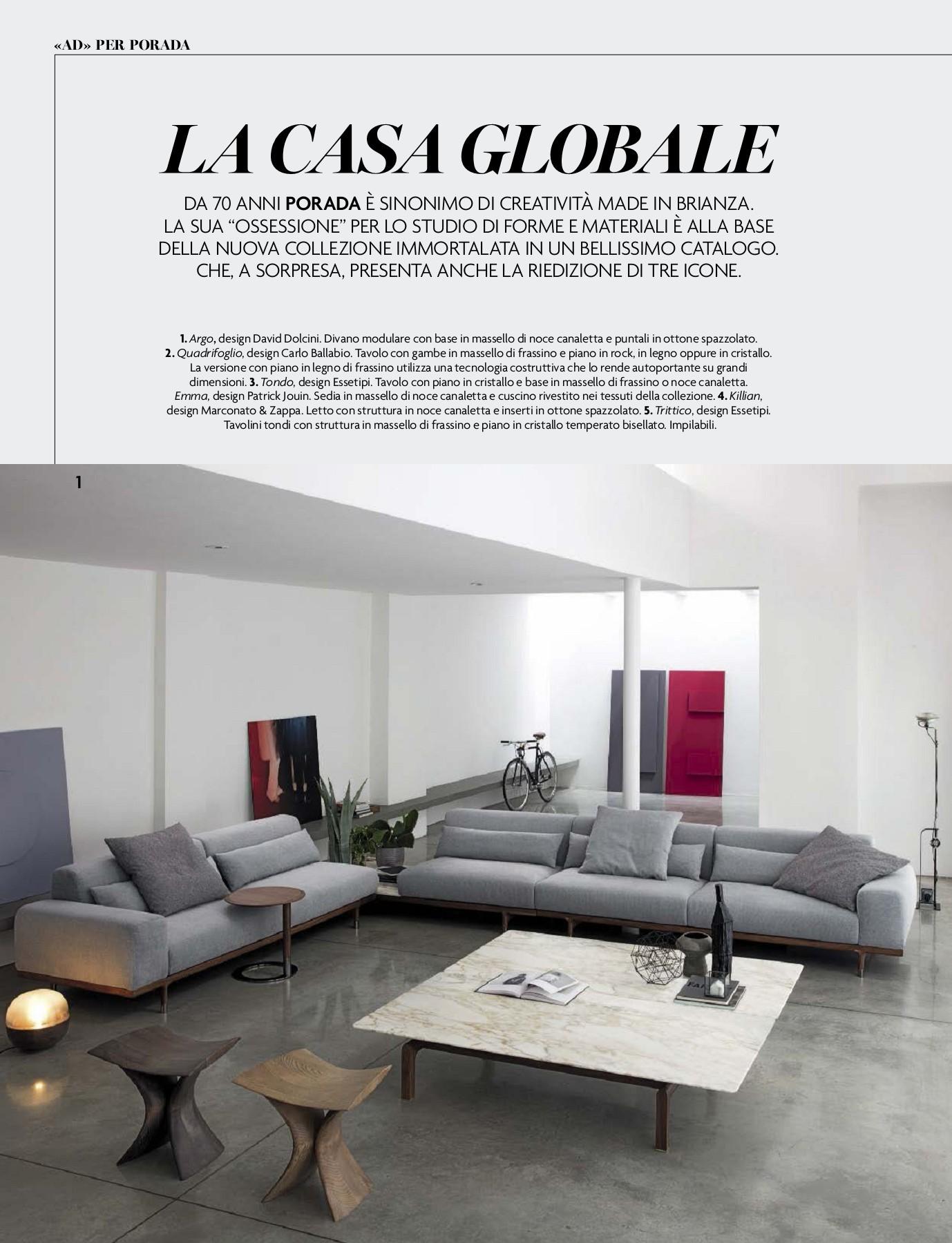 Negozi Tappeti Napoli E Provincia ad architectural digest italia settembre 2018-flip book