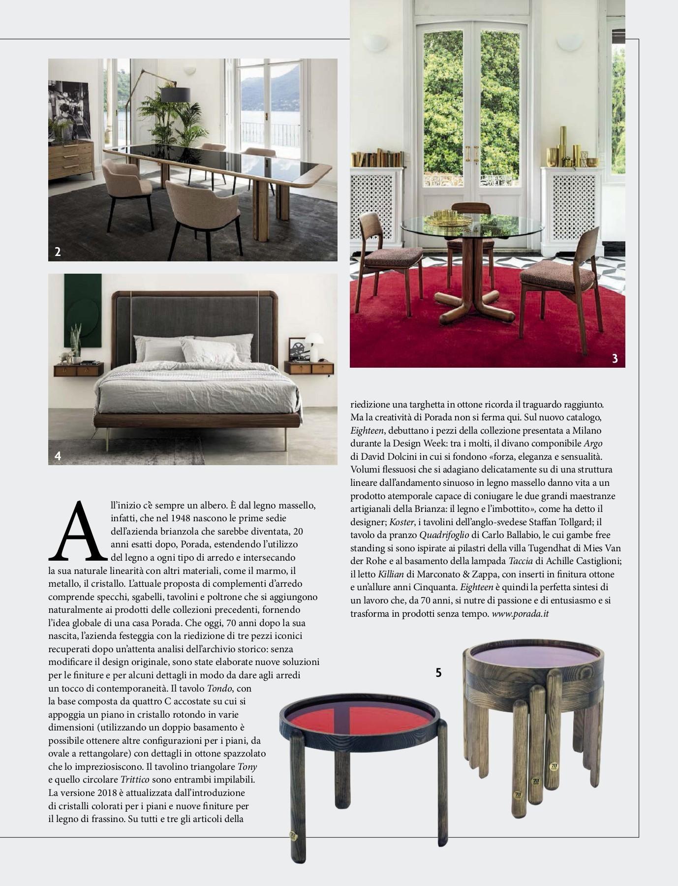 Trend for Homes Sgabello Milan Colore Trasparente