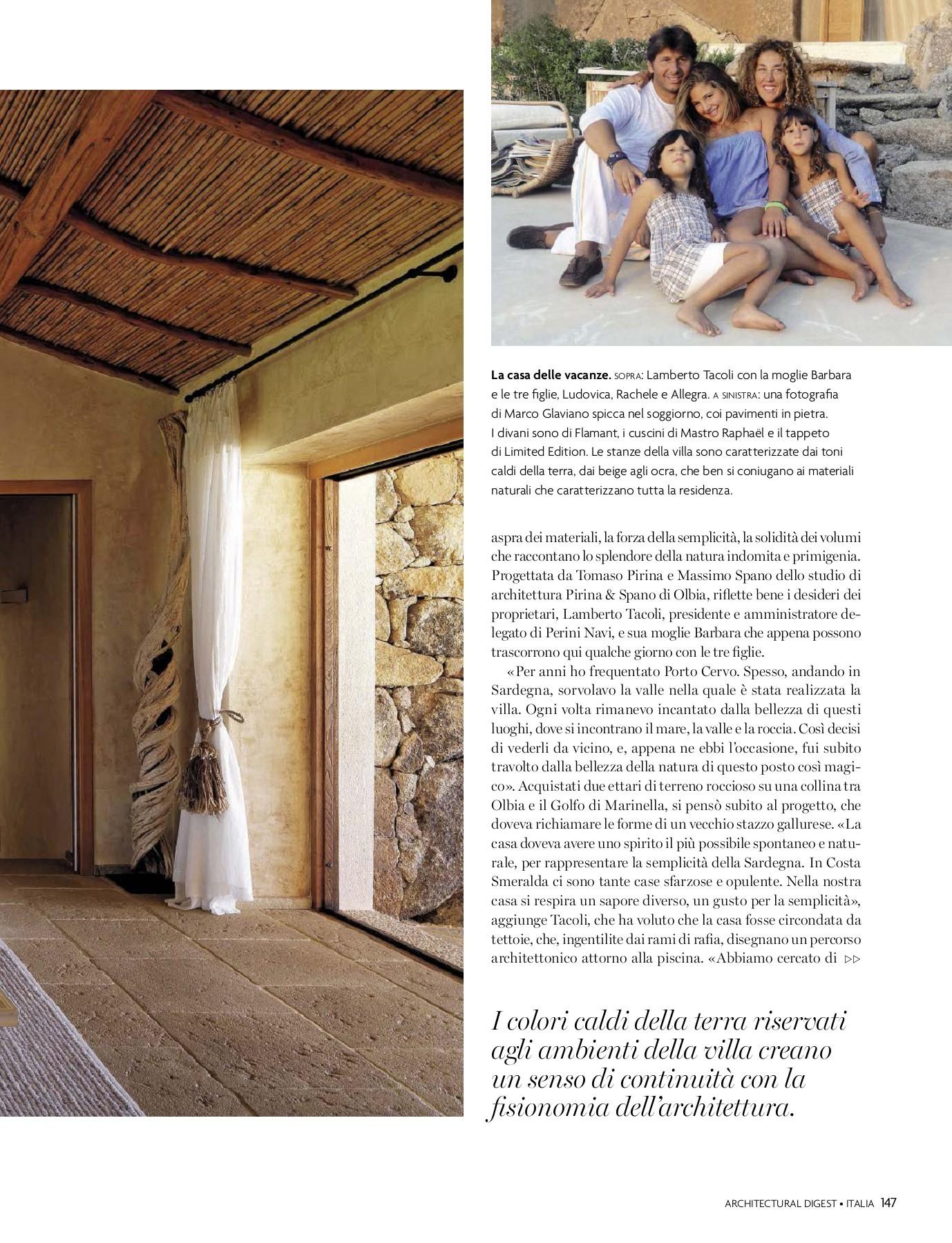 Tappezzeria Trompe L Oeil ad architectural digest italia settembre 2018-flip book