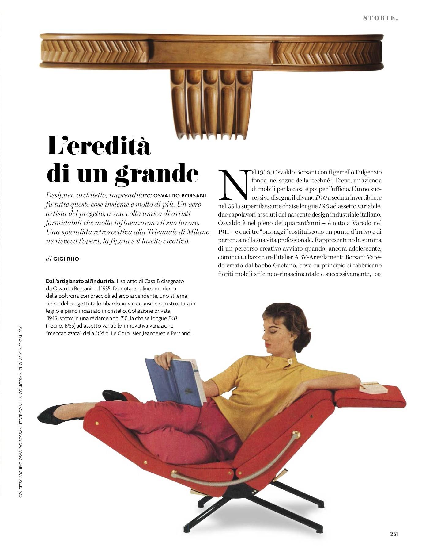 Artigiano Della Sedia Bologna ad architectural digest italia settembre 2018-flip book